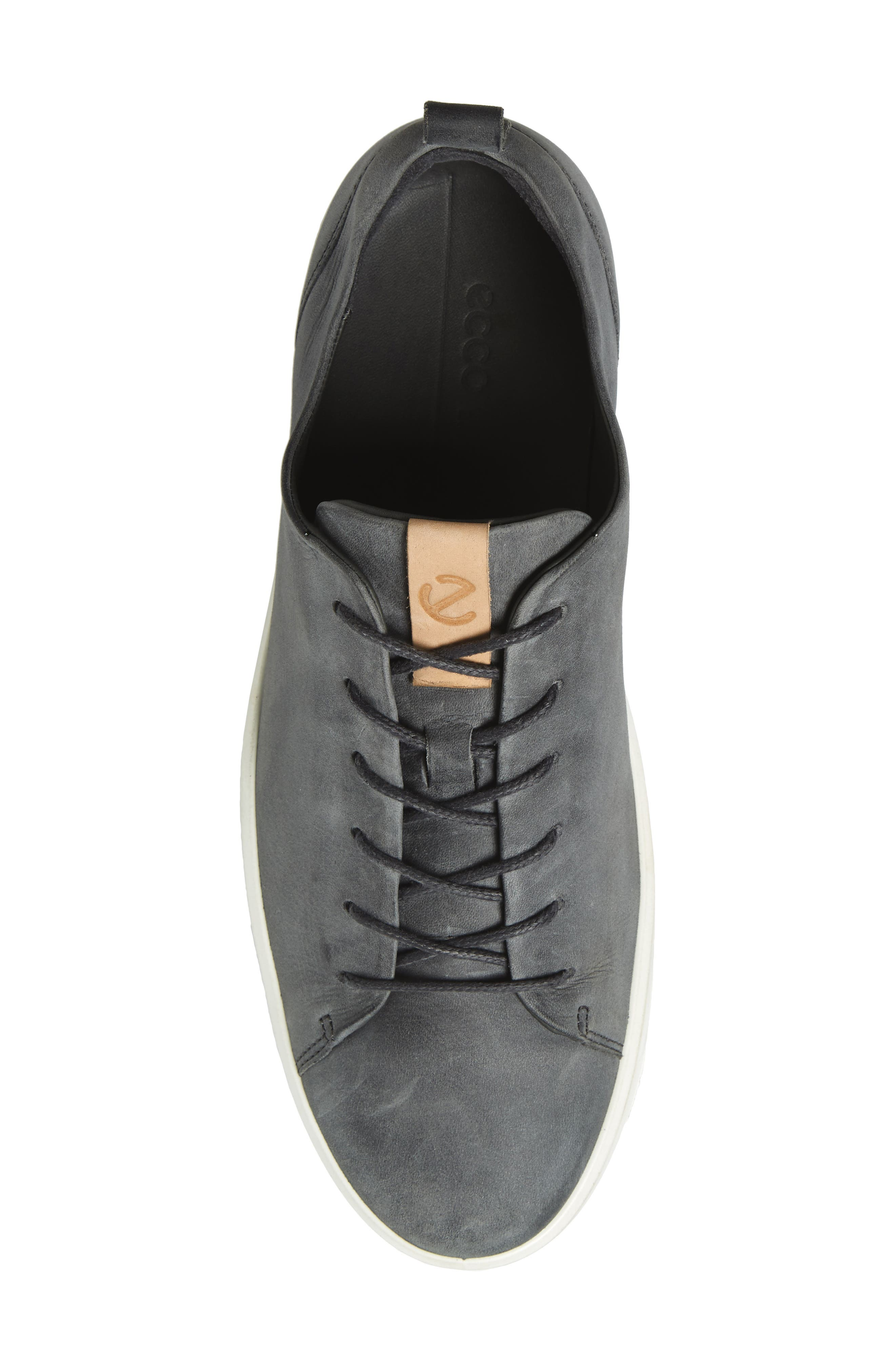 Soft 8 Sneaker,                             Alternate thumbnail 5, color,                             DARK SHADOW LEATHER