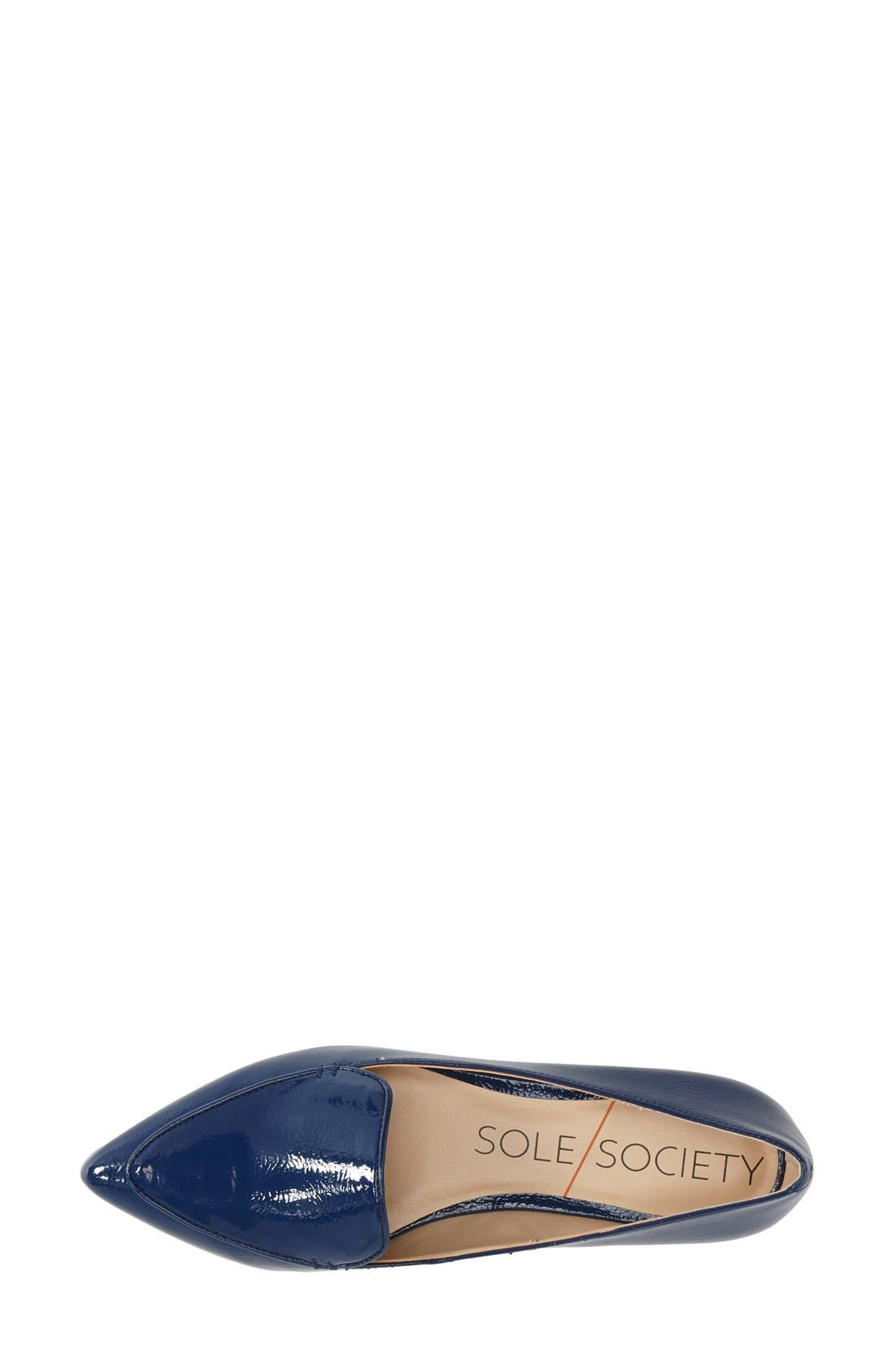 'Cammila' Pointy Toe Loafer,                             Alternate thumbnail 20, color,