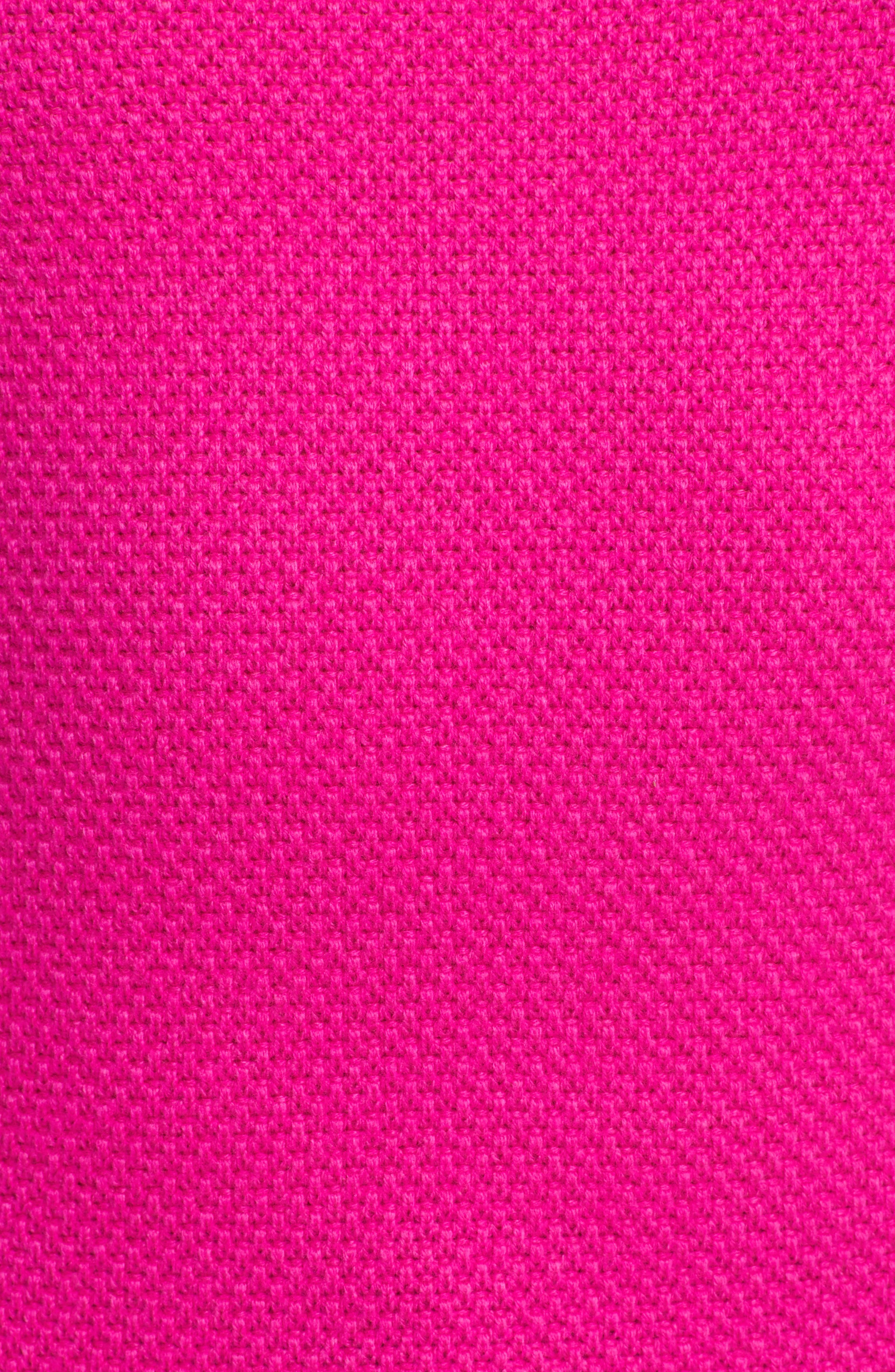 Textured Merino-Wool-Blend Sweater,                             Alternate thumbnail 5, color,
