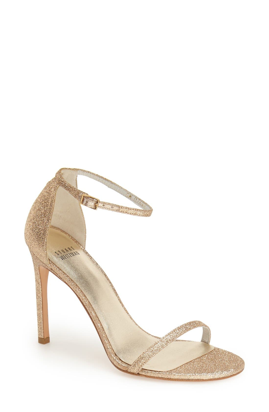 Nudistsong Ankle Strap Sandal,                             Main thumbnail 42, color,
