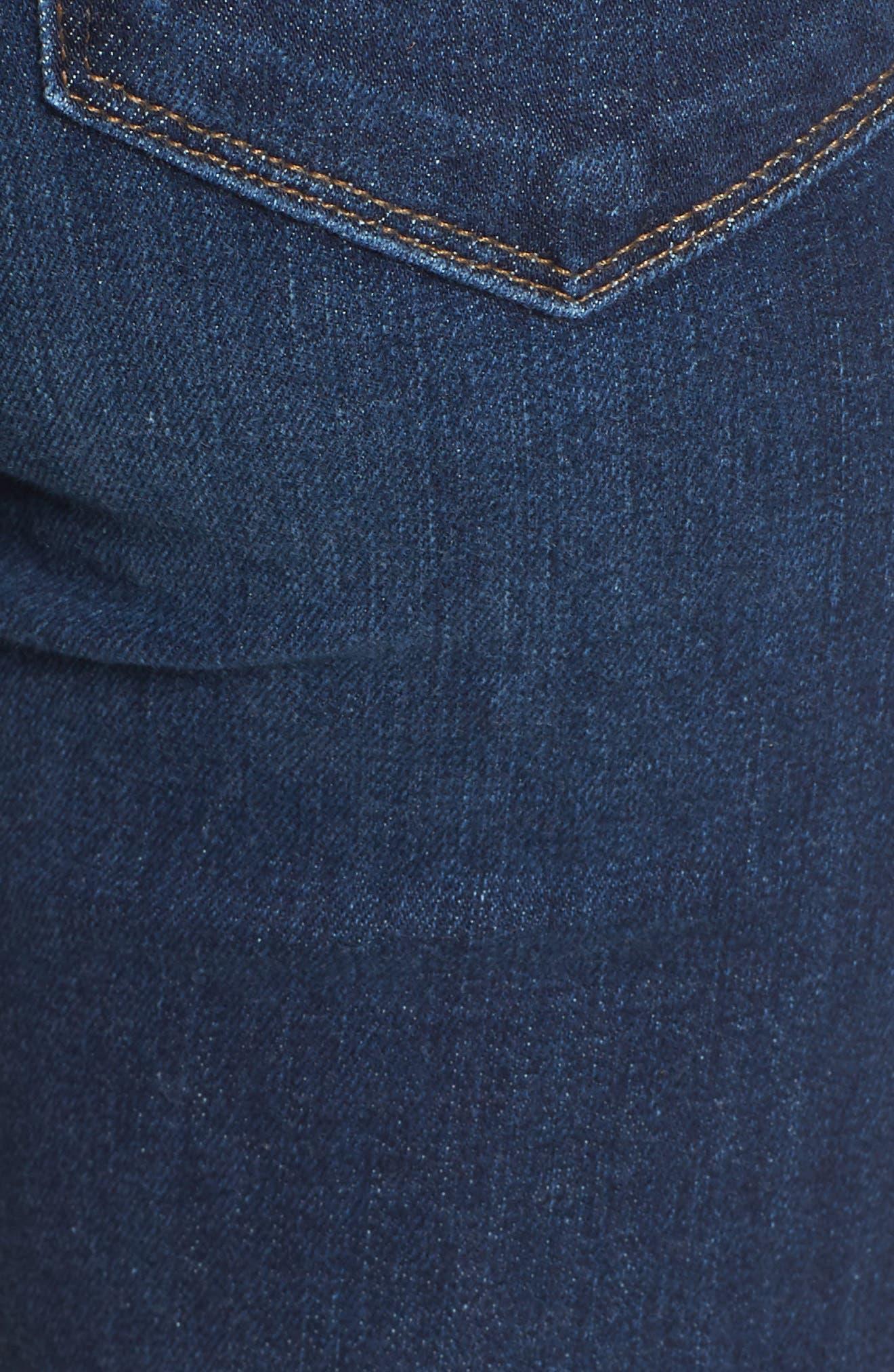 Verdugo Transcend Vintage Crop Skinny Jeans,                             Alternate thumbnail 6, color,                             400