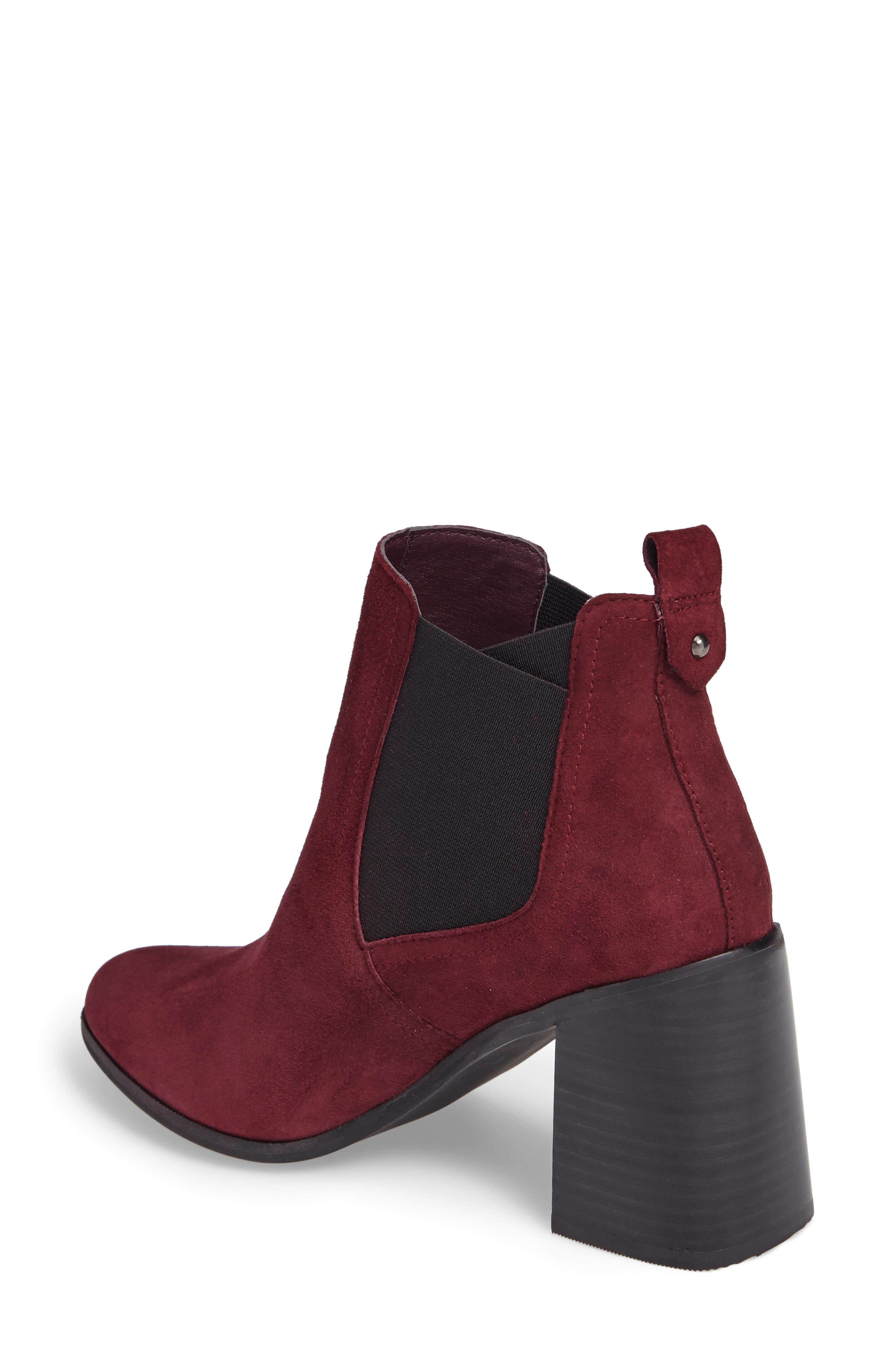 Quinn Flared Heel Chelsea Bootie,                             Alternate thumbnail 10, color,