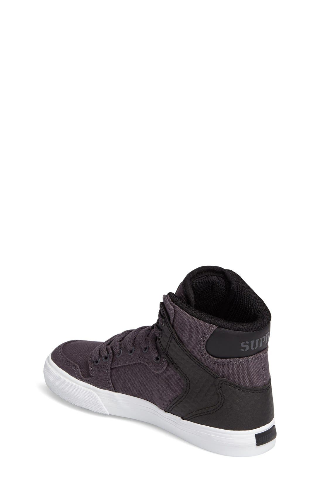 Vaider High Top Sneaker,                             Alternate thumbnail 3, color,                             006