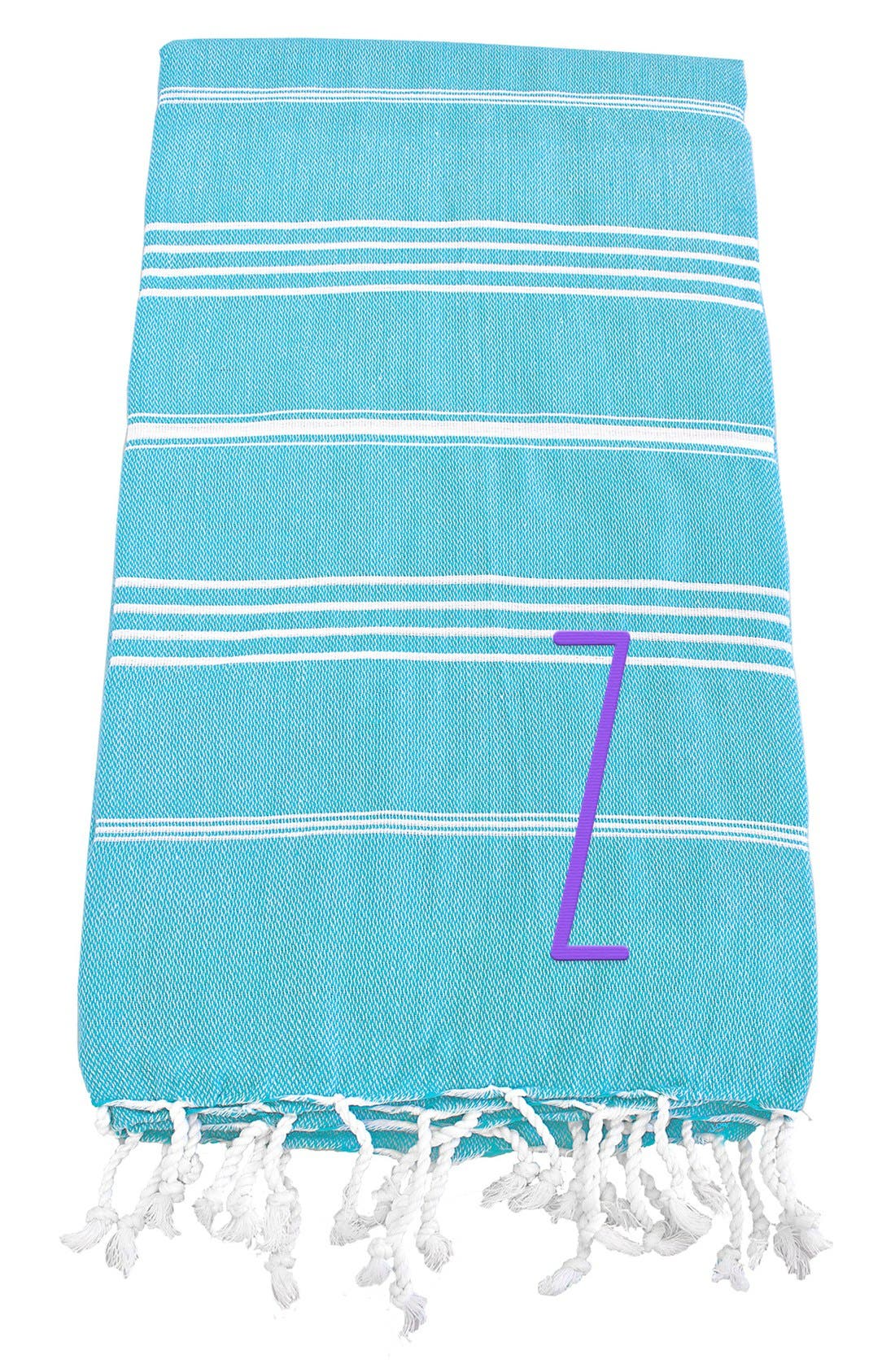 Monogram Turkish Cotton Towel,                             Main thumbnail 108, color,
