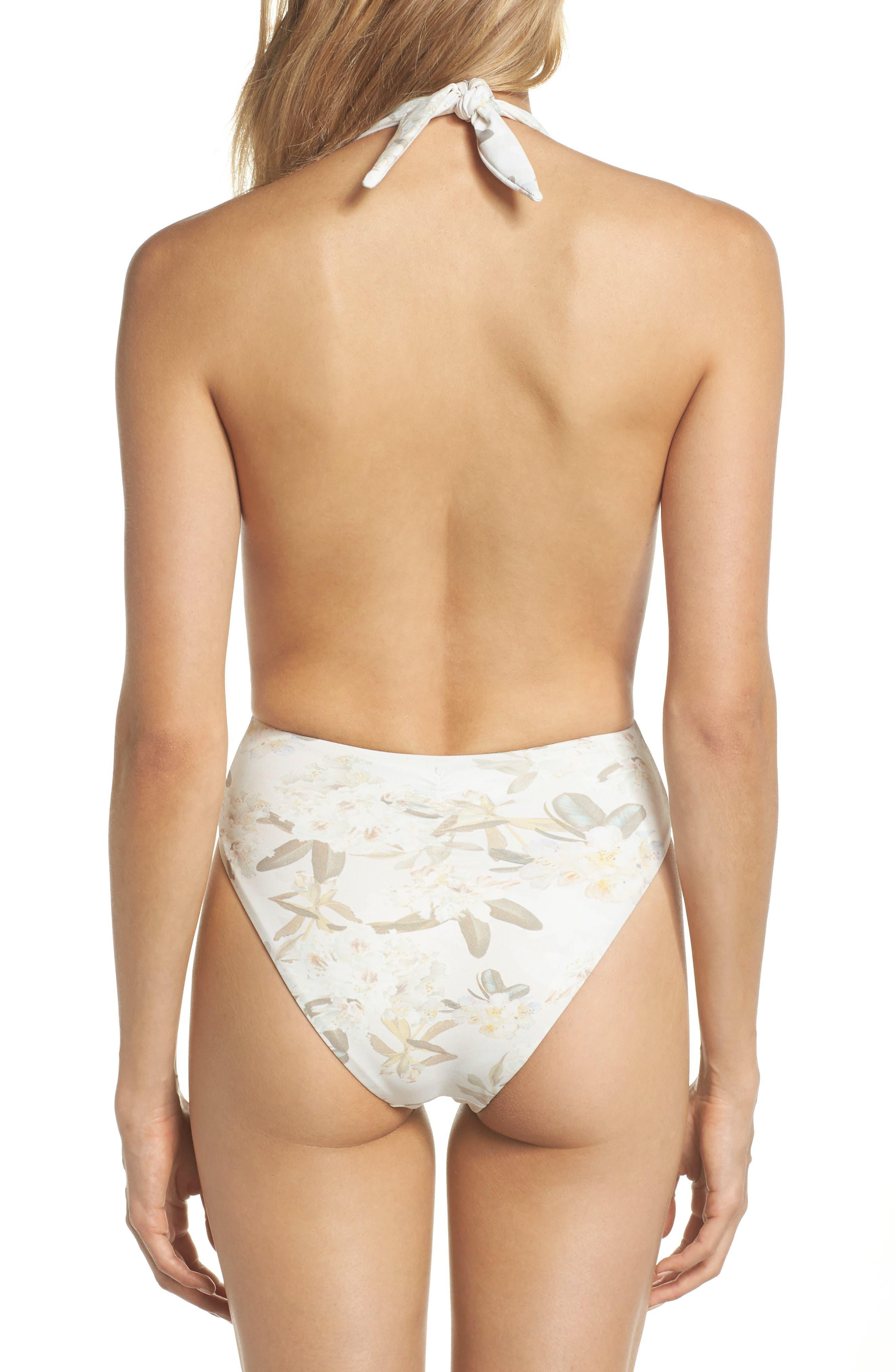 Tropex One-Piece Swimsuit,                             Alternate thumbnail 2, color,                             ETE FLORAL WHITE