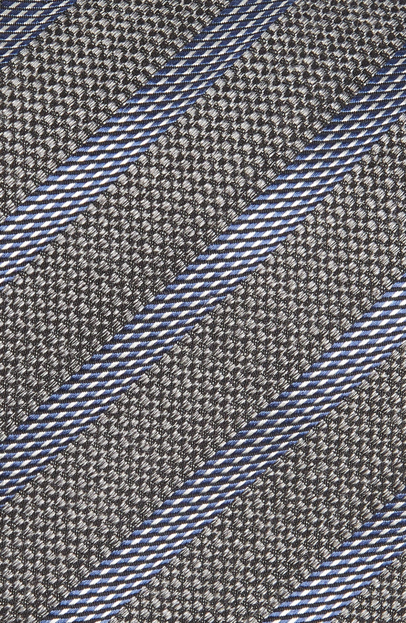 Stripe Cotton Blend Tie,                             Alternate thumbnail 2, color,                             020