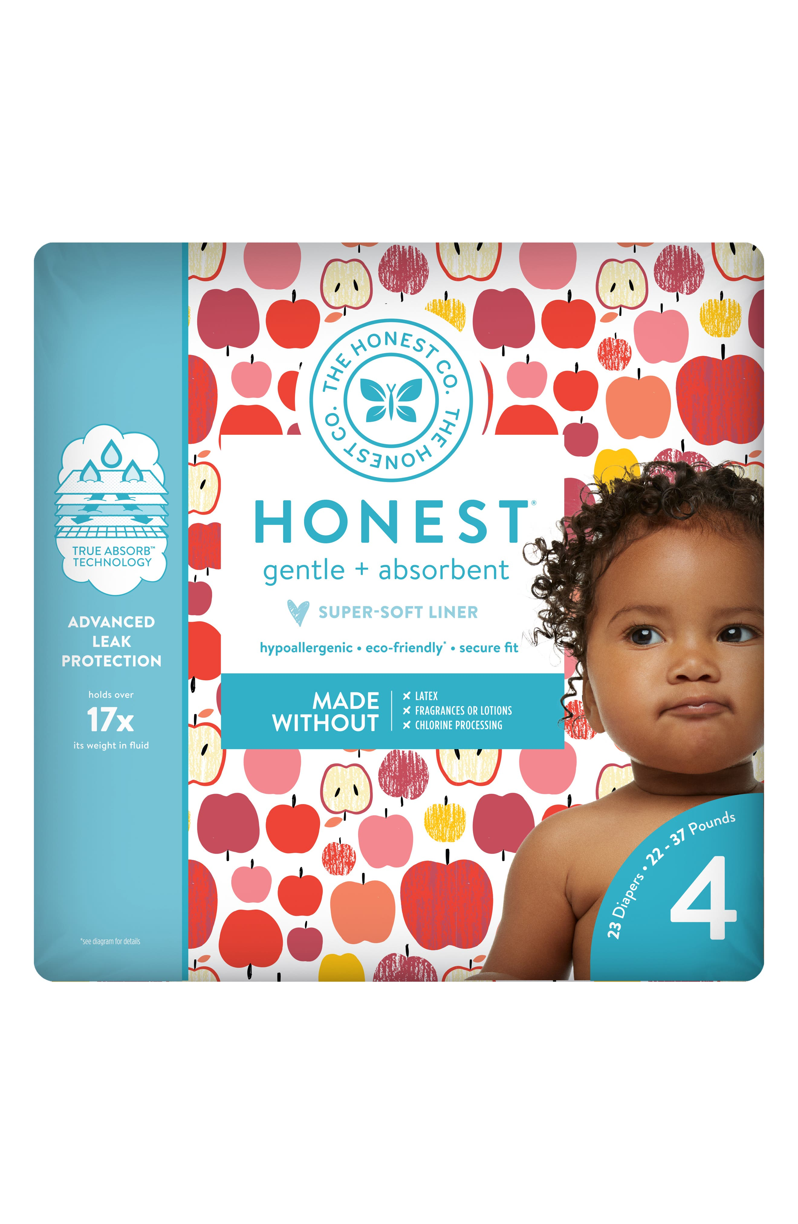 Them Apples Diapers,                             Alternate thumbnail 7, color,                             THEM APPLES