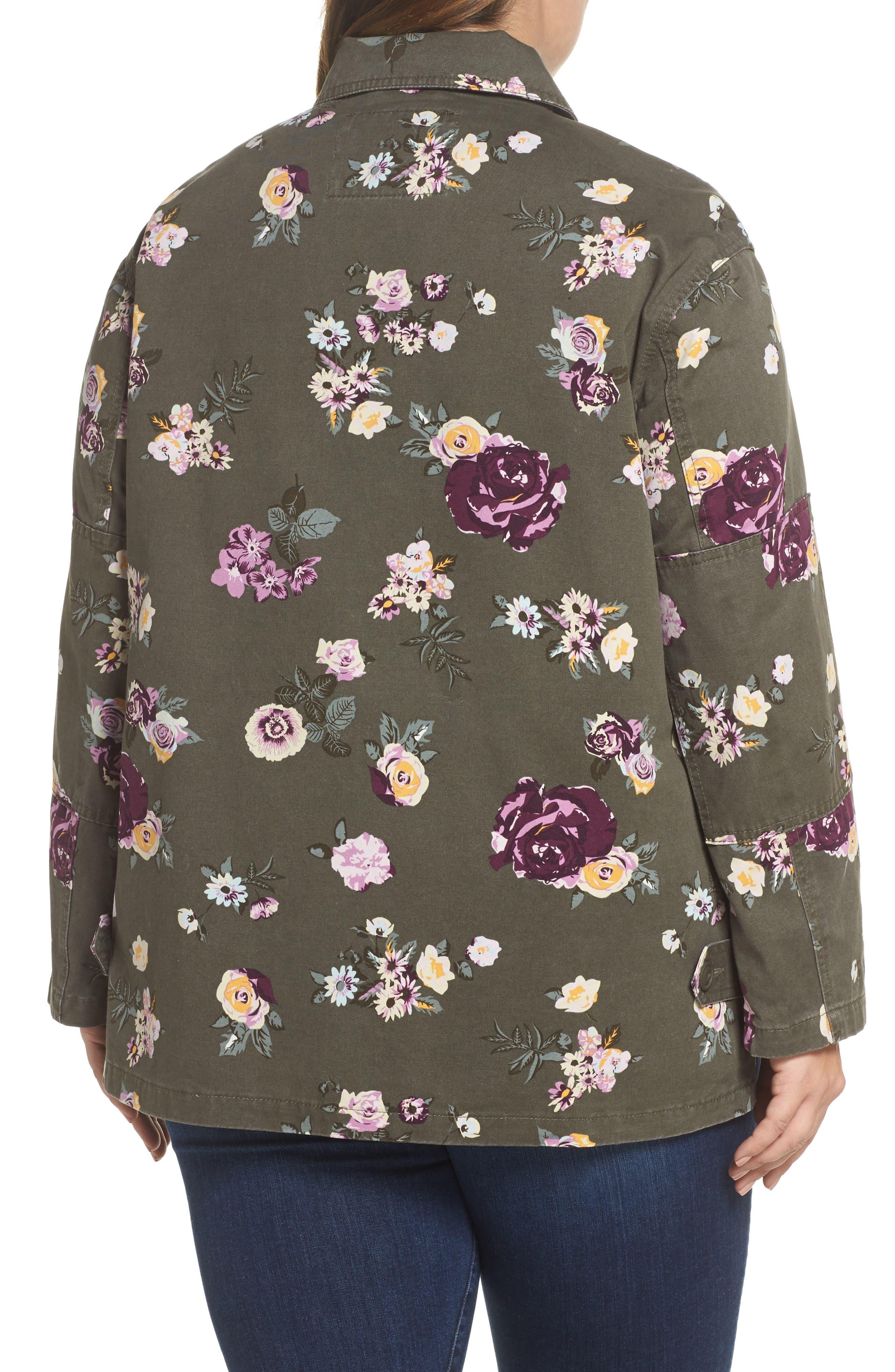 High/Low Shirt Jacket,                             Alternate thumbnail 2, color,                             103