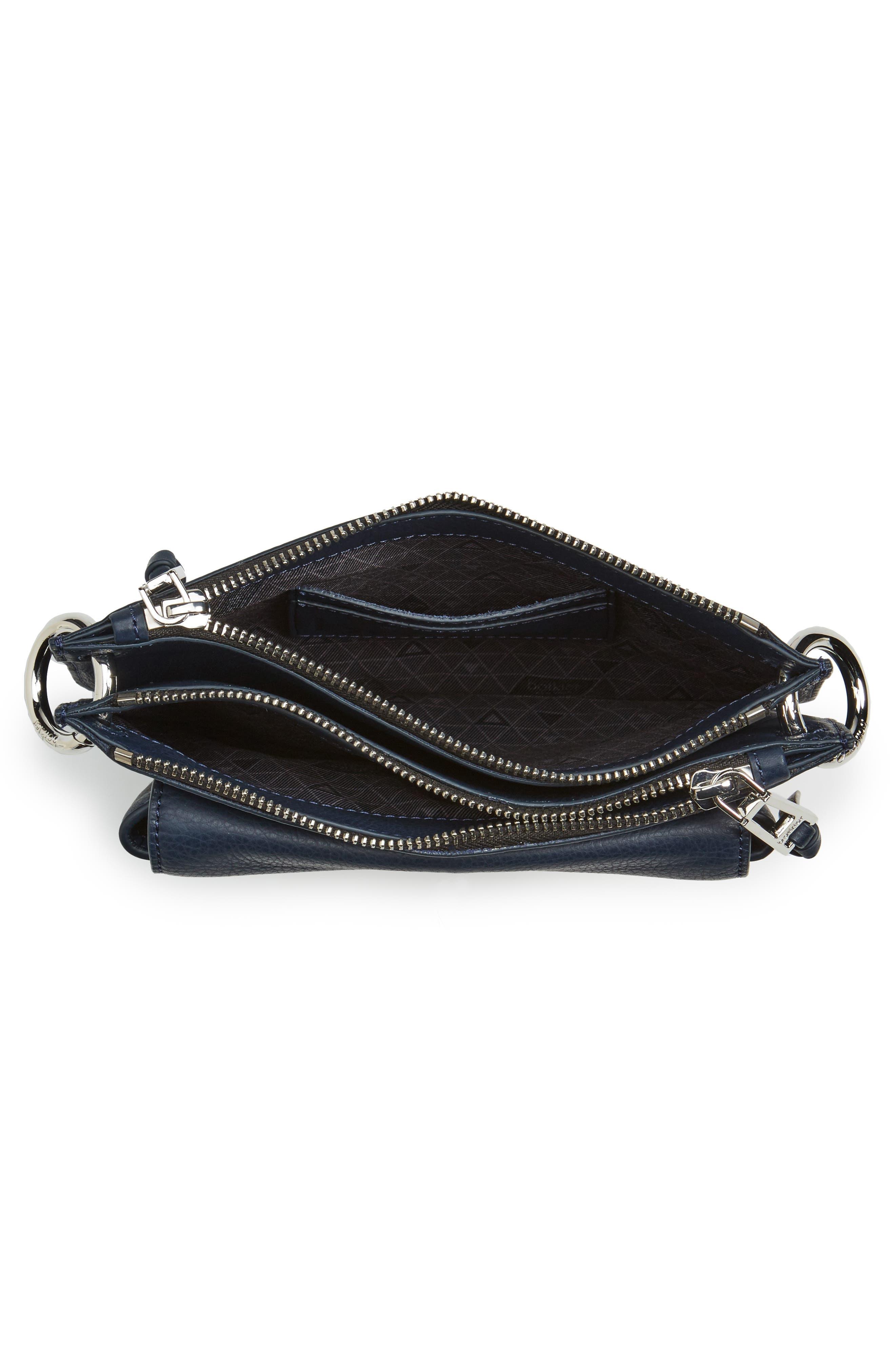 Bleeker Leather Double Shoulder Bag,                             Alternate thumbnail 22, color,