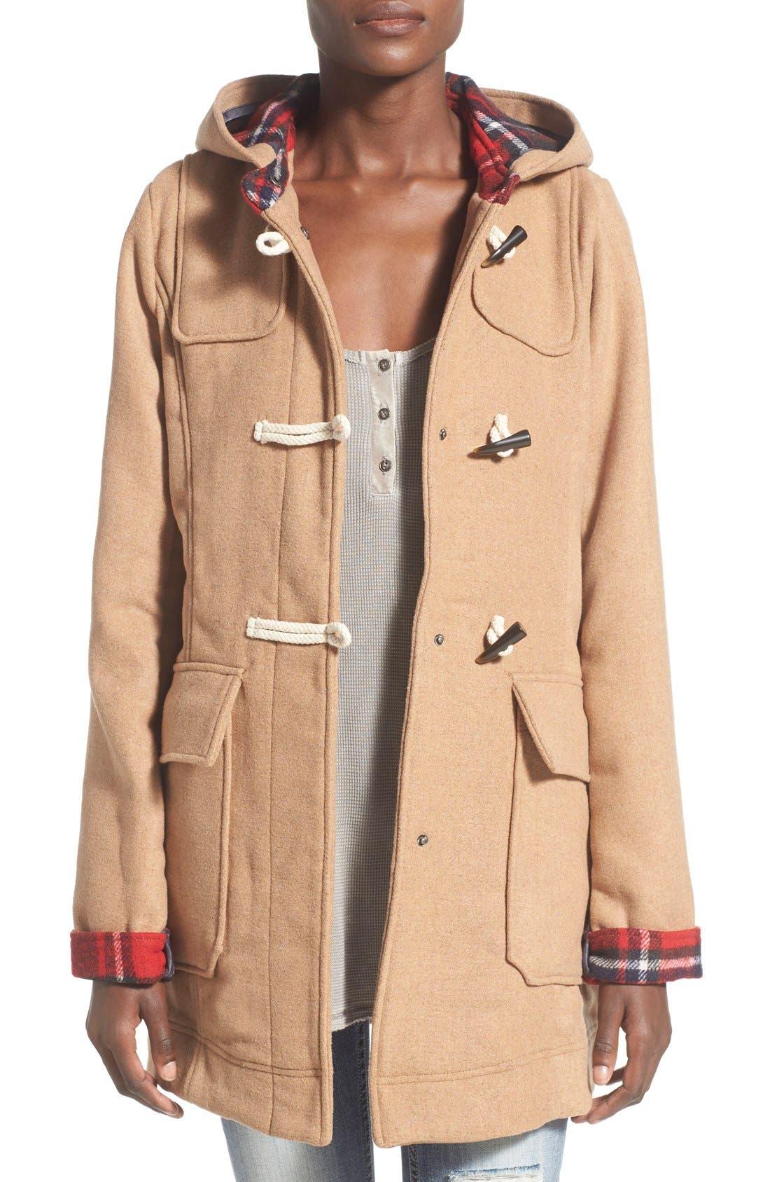 THREAD & SUPPLY 'Waldorf' Toggle Jacket, Main, color, 261