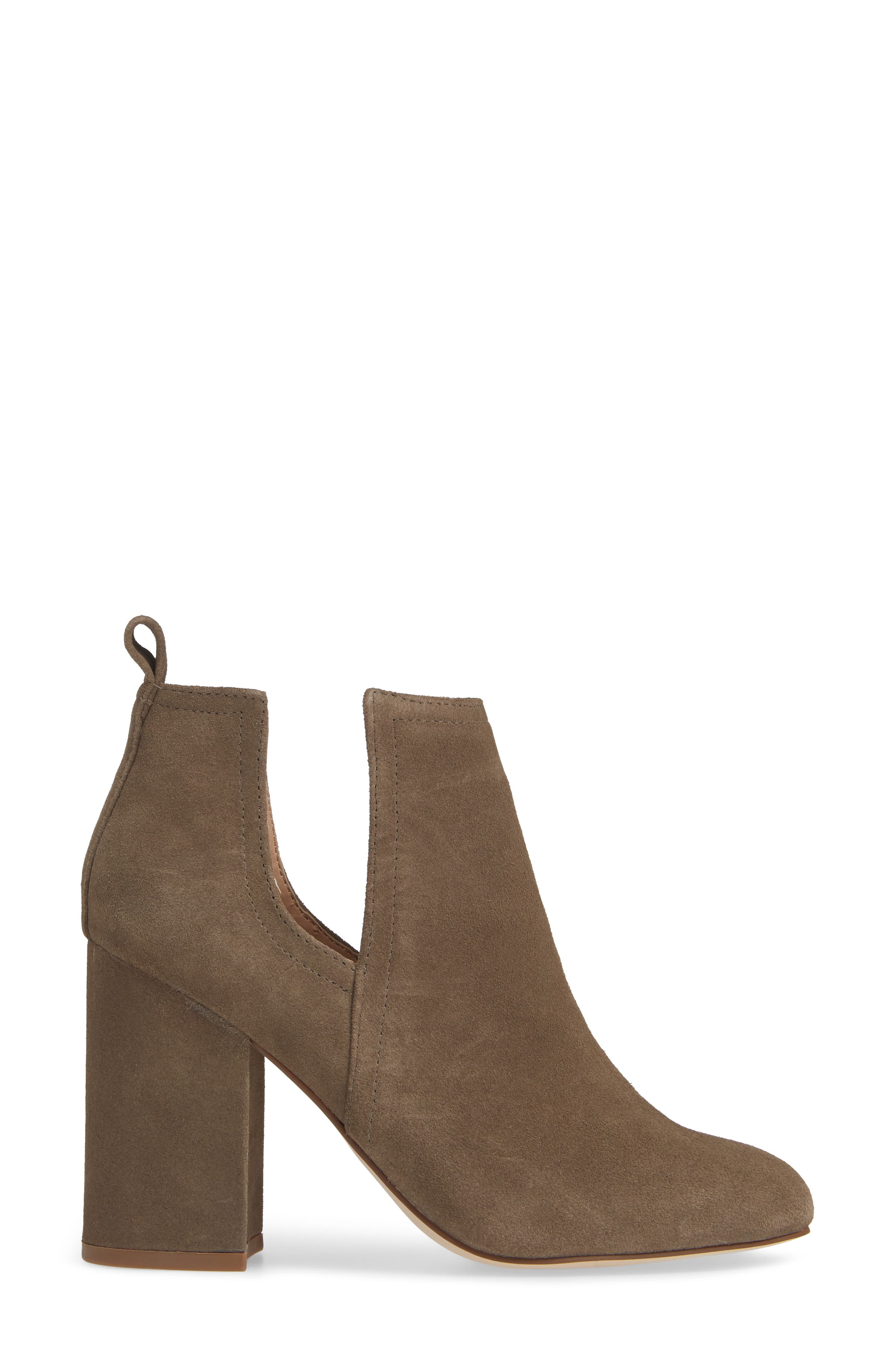 Nayna Bootie,                             Alternate thumbnail 3, color,                             DARK TAUPE