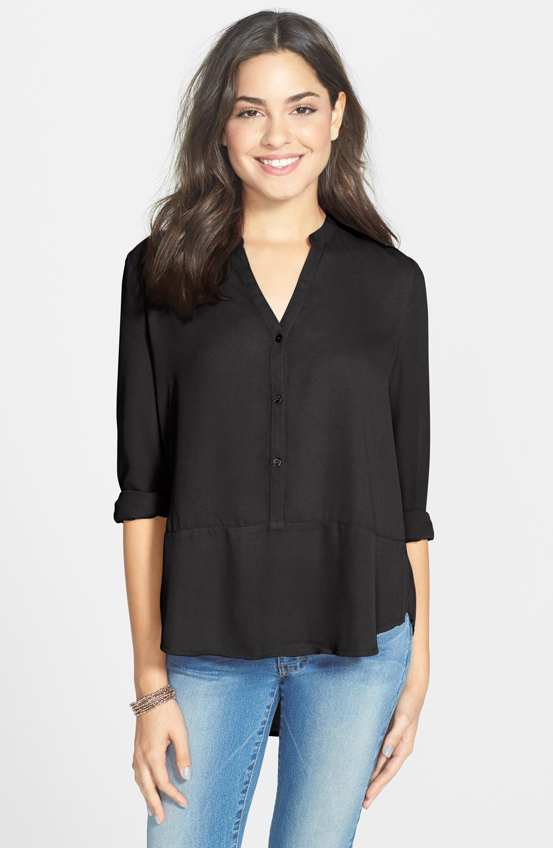 Long Sleeve Top, Main, color, 001