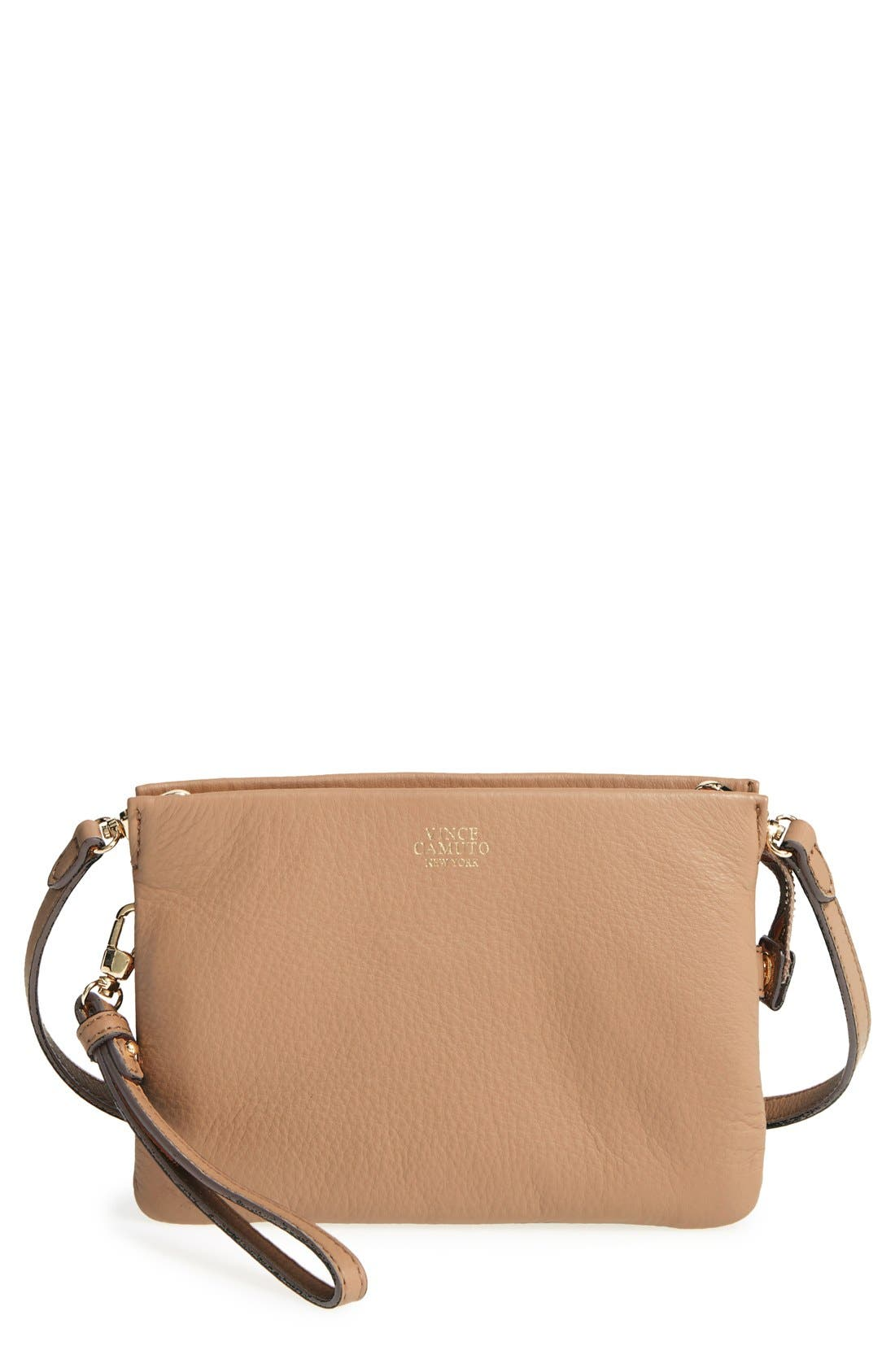 'Cami' Leather Crossbody Bag,                             Main thumbnail 13, color,