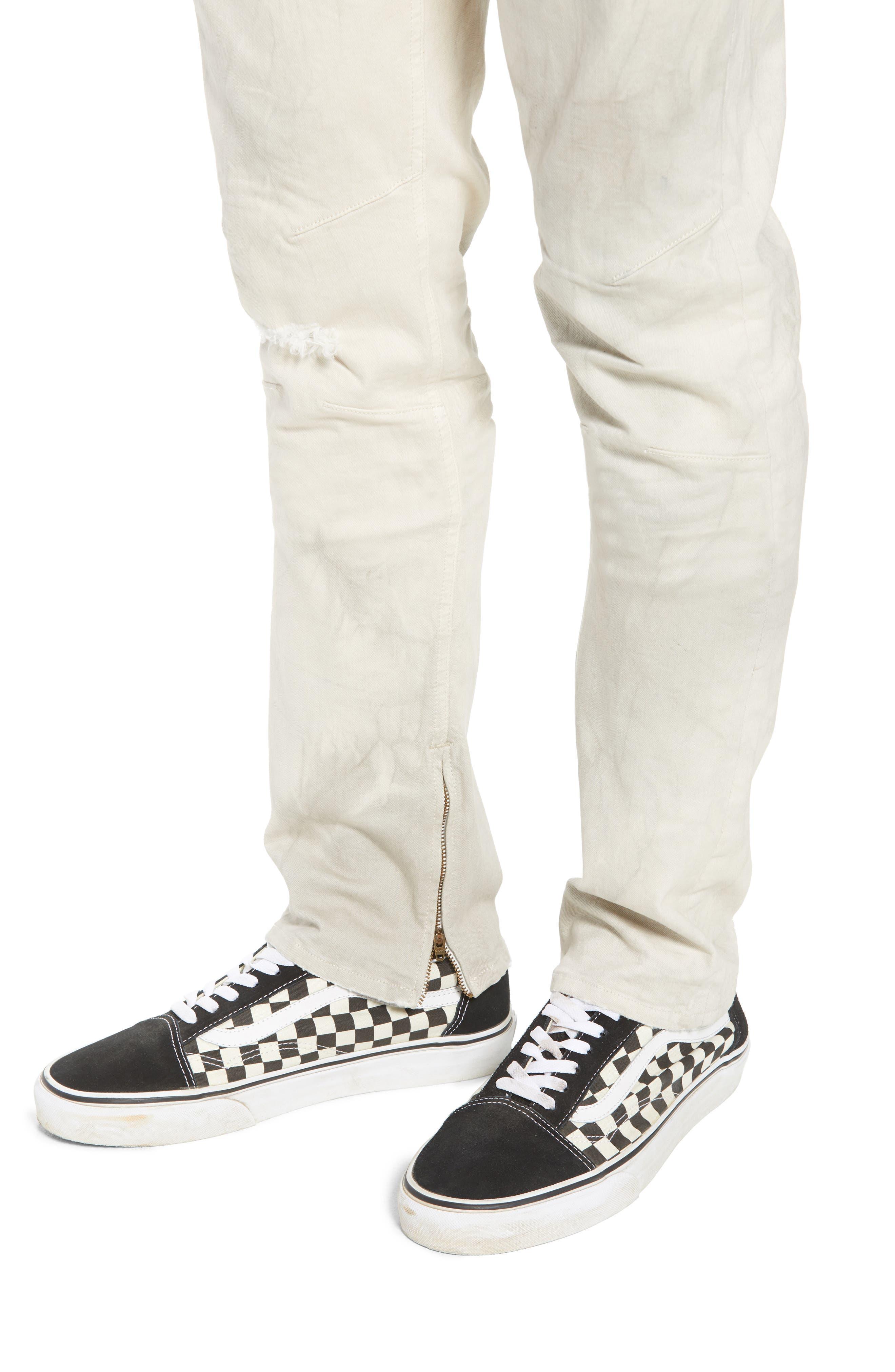 Vaughn Biker Skinny Fit Jeans,                             Alternate thumbnail 4, color,                             250