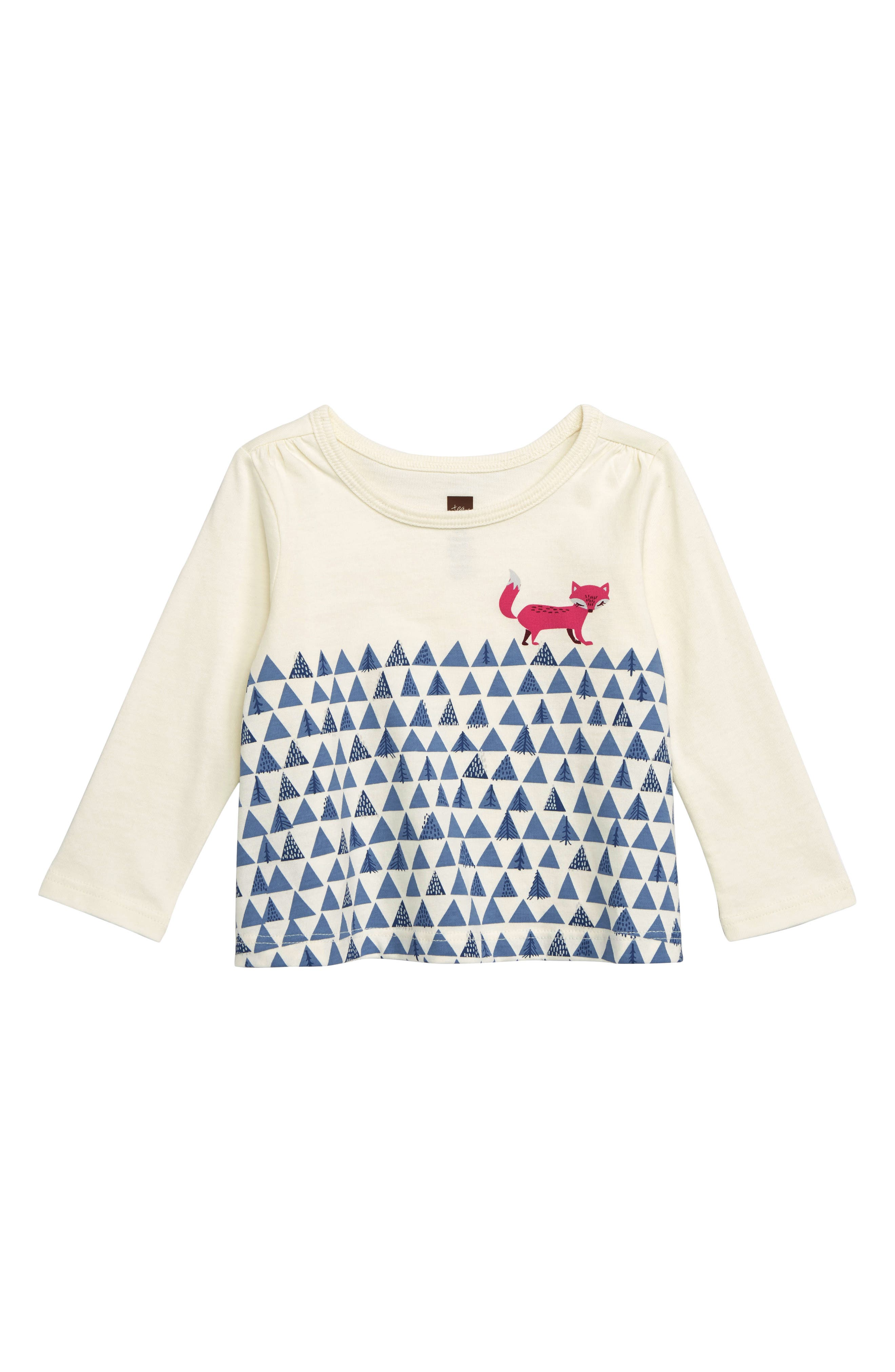 Infant Girls Tea Collection Fox Trot Graphic TShirt