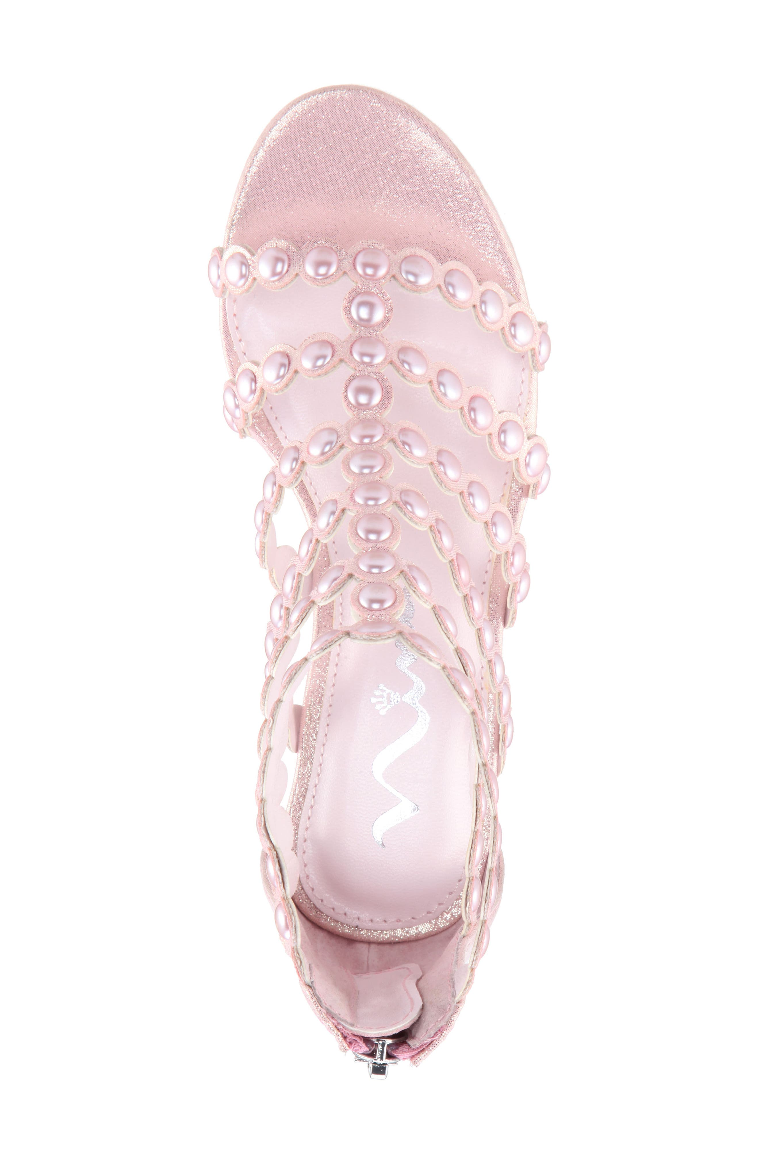 Princess-P Shimmer Sandal,                             Alternate thumbnail 14, color,