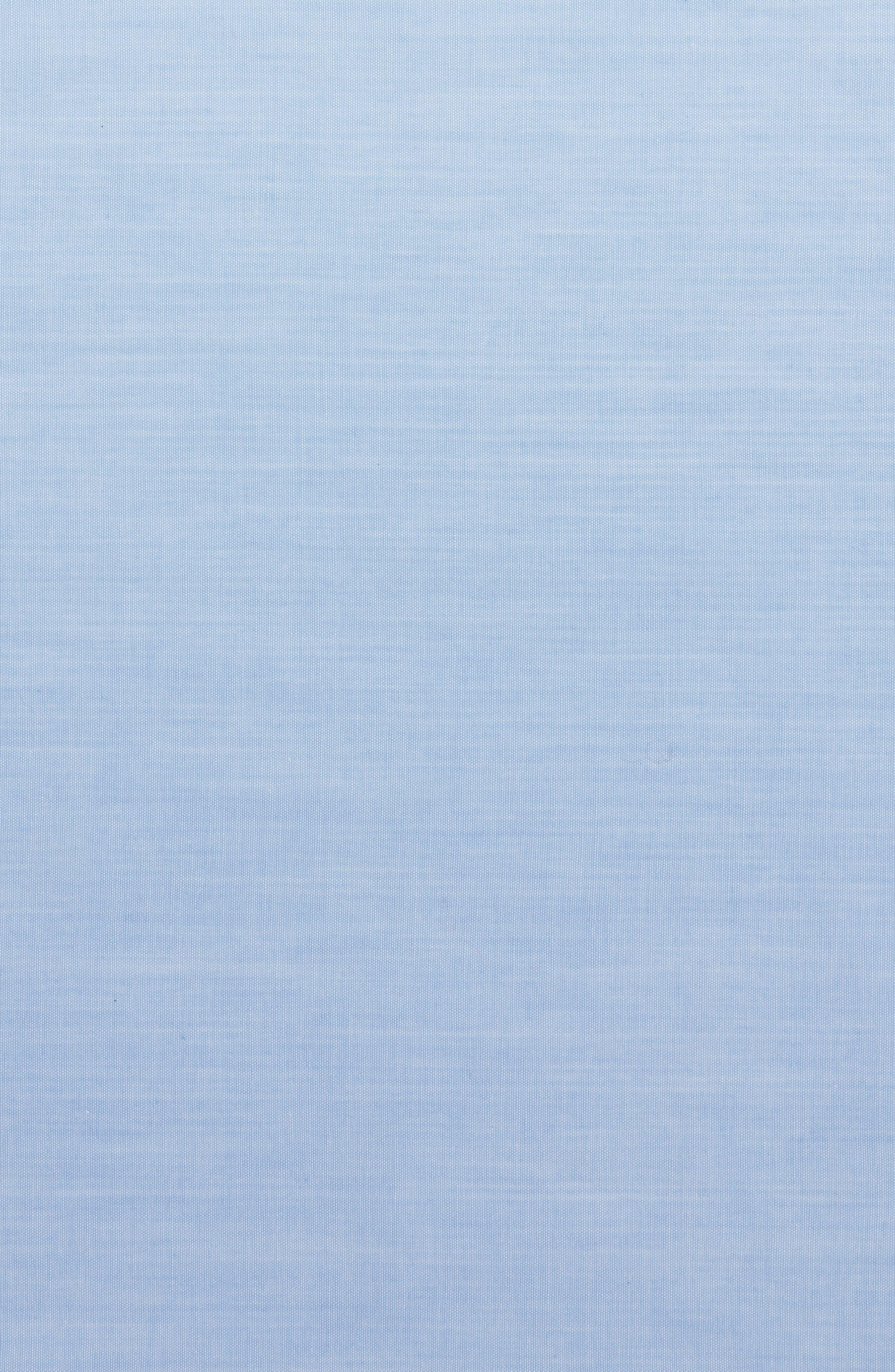 Chambray CottonPocket Square,                             Alternate thumbnail 4, color,                             455