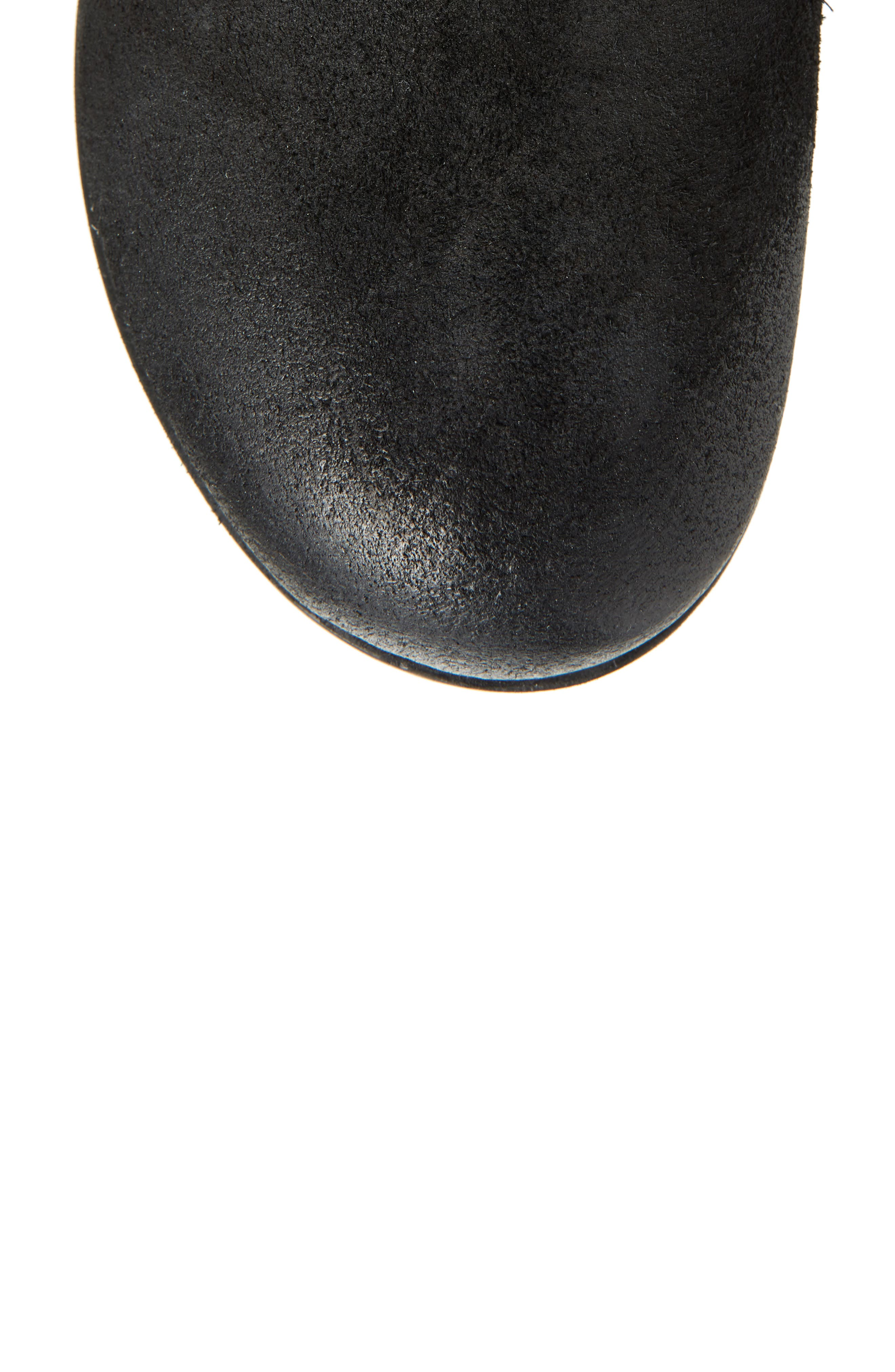 Sarnia High Boot,                             Alternate thumbnail 5, color,                             BLACK LEATHER