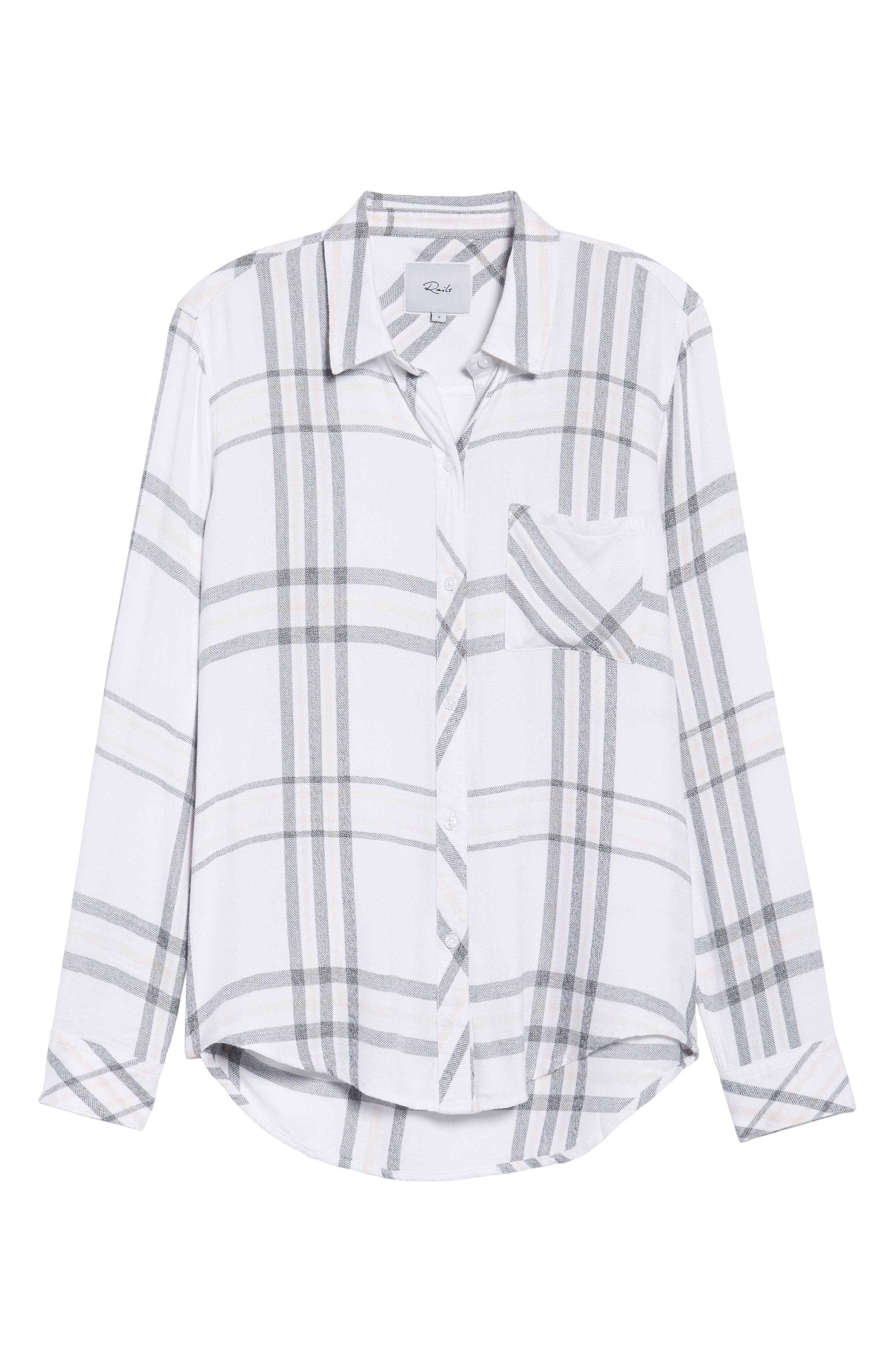 Hunter Plaid Shirt,                             Alternate thumbnail 698, color,