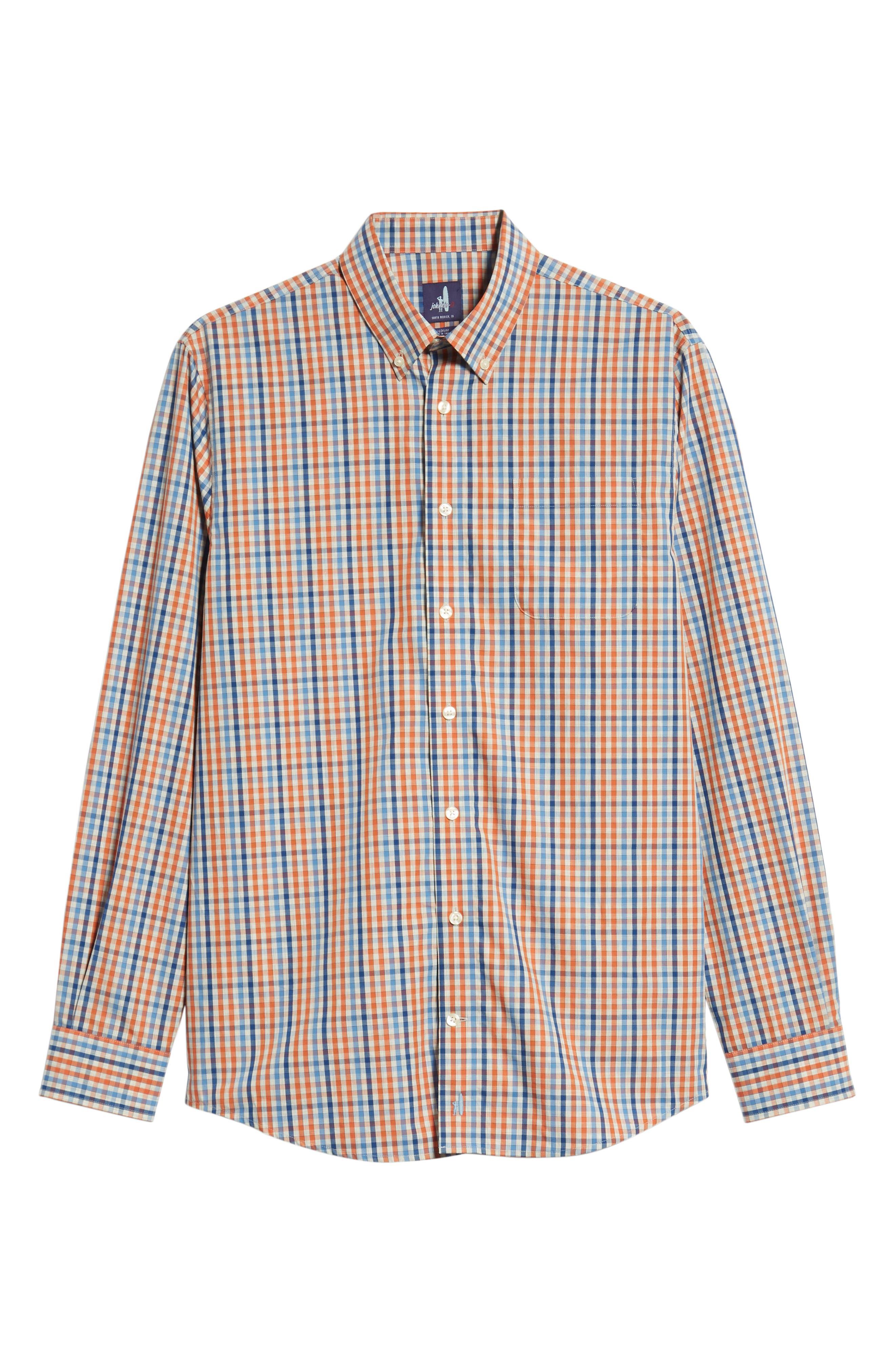 Rawlings Classic Fit Sport Shirt,                             Alternate thumbnail 5, color,                             MARINER