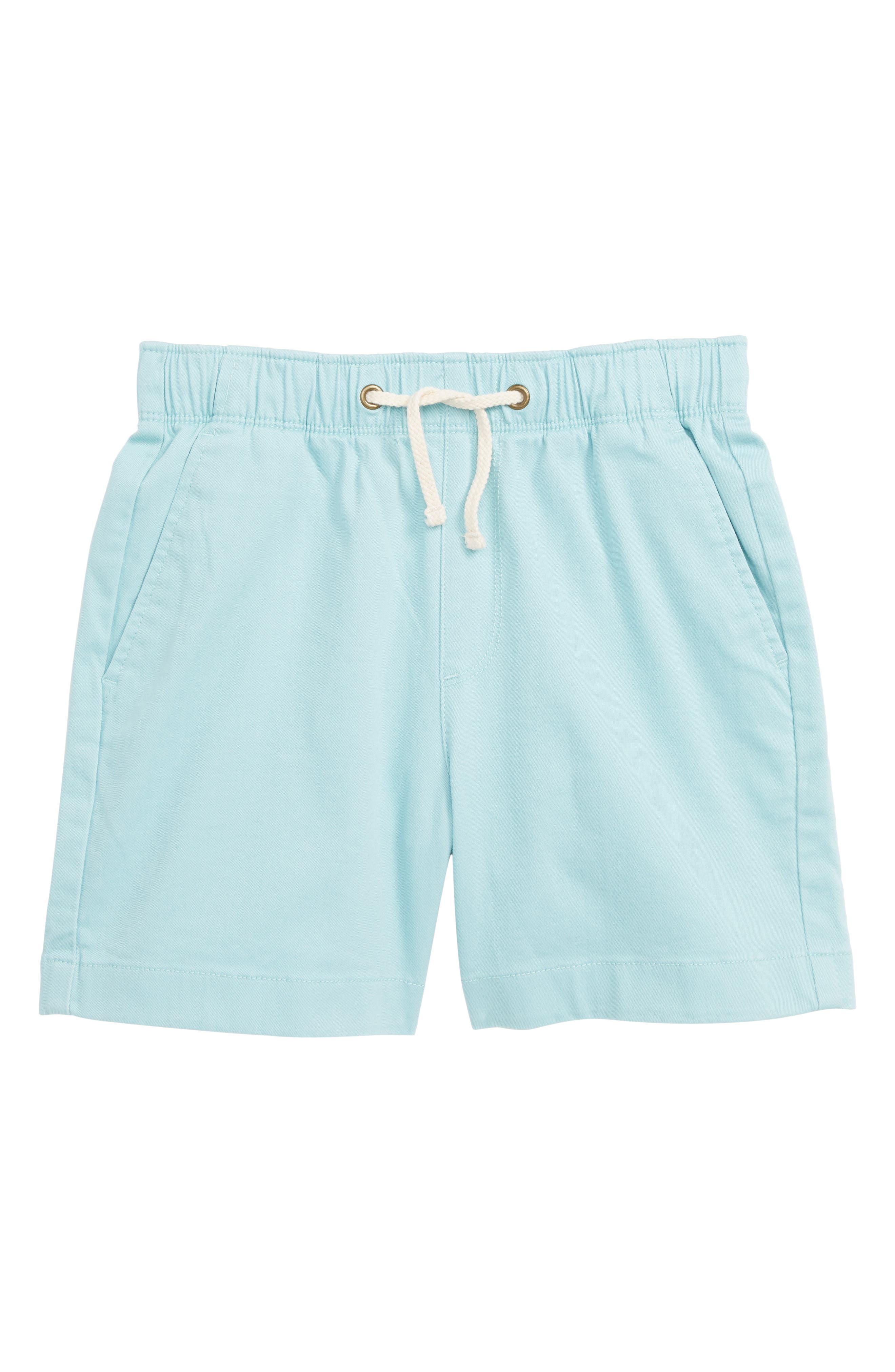 CREWCUTS BY J.CREW Stretch Chino Dock Shorts, Main, color, DEEP SPEARMINT