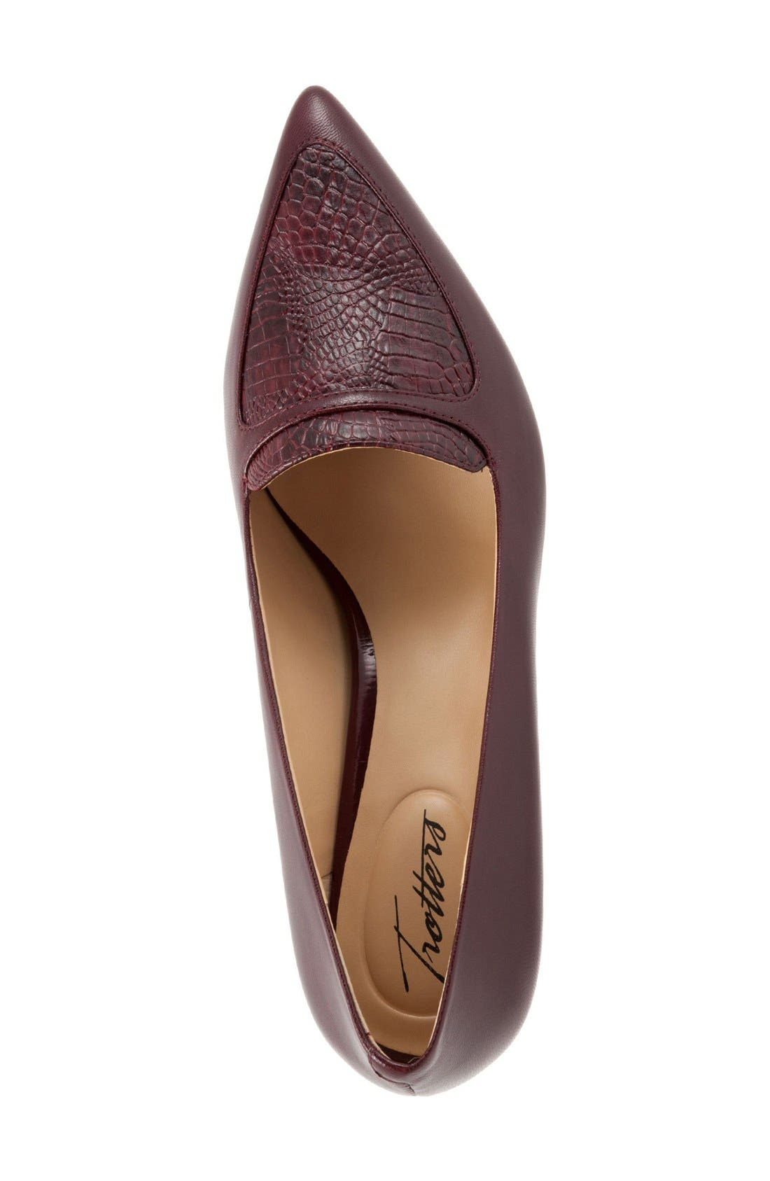 'Piper' Pointy Toe Pump,                             Alternate thumbnail 32, color,