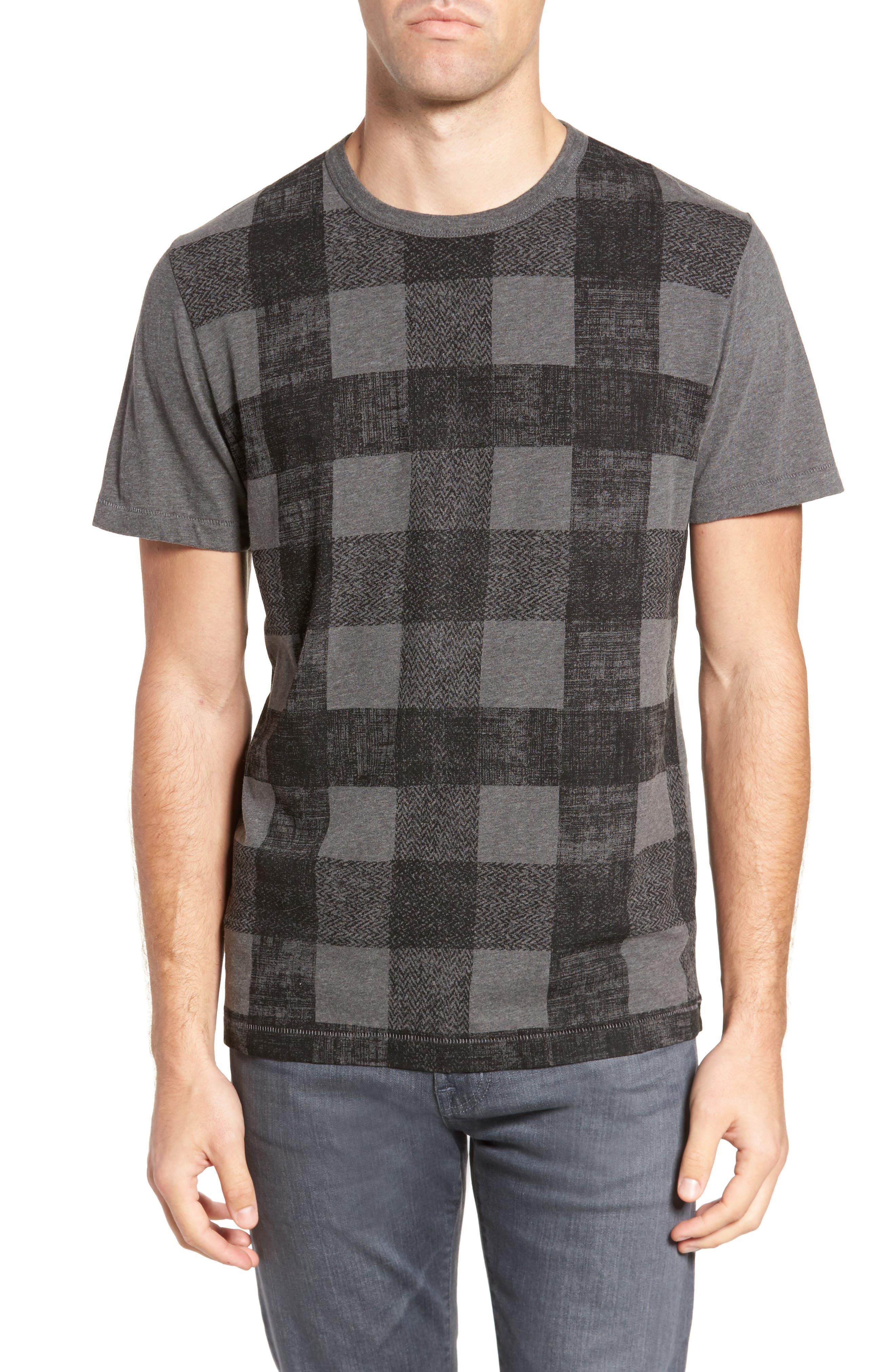 Texas Check Regular Fit T-Shirt,                             Main thumbnail 1, color,