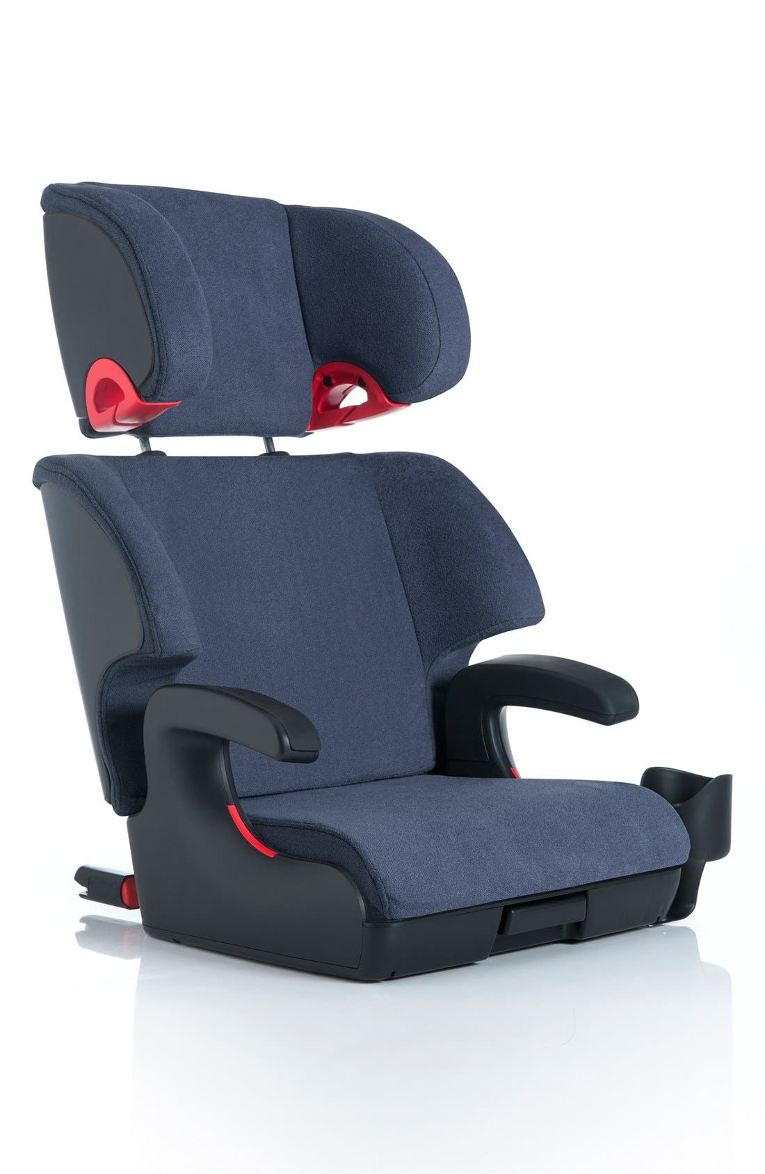Oobr Convertible Full Back/Backless Booster Seat,                             Main thumbnail 4, color,