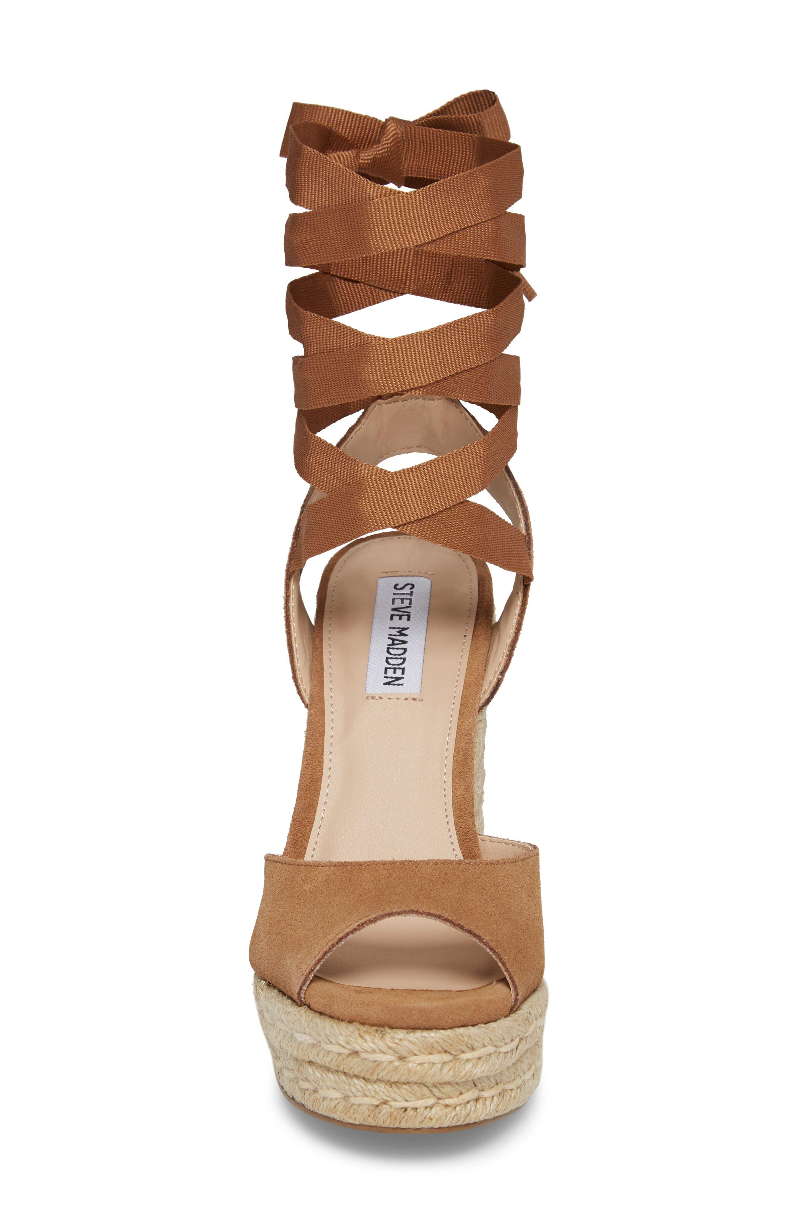 Secret Wedge Wraparound Sandal,                             Alternate thumbnail 8, color,