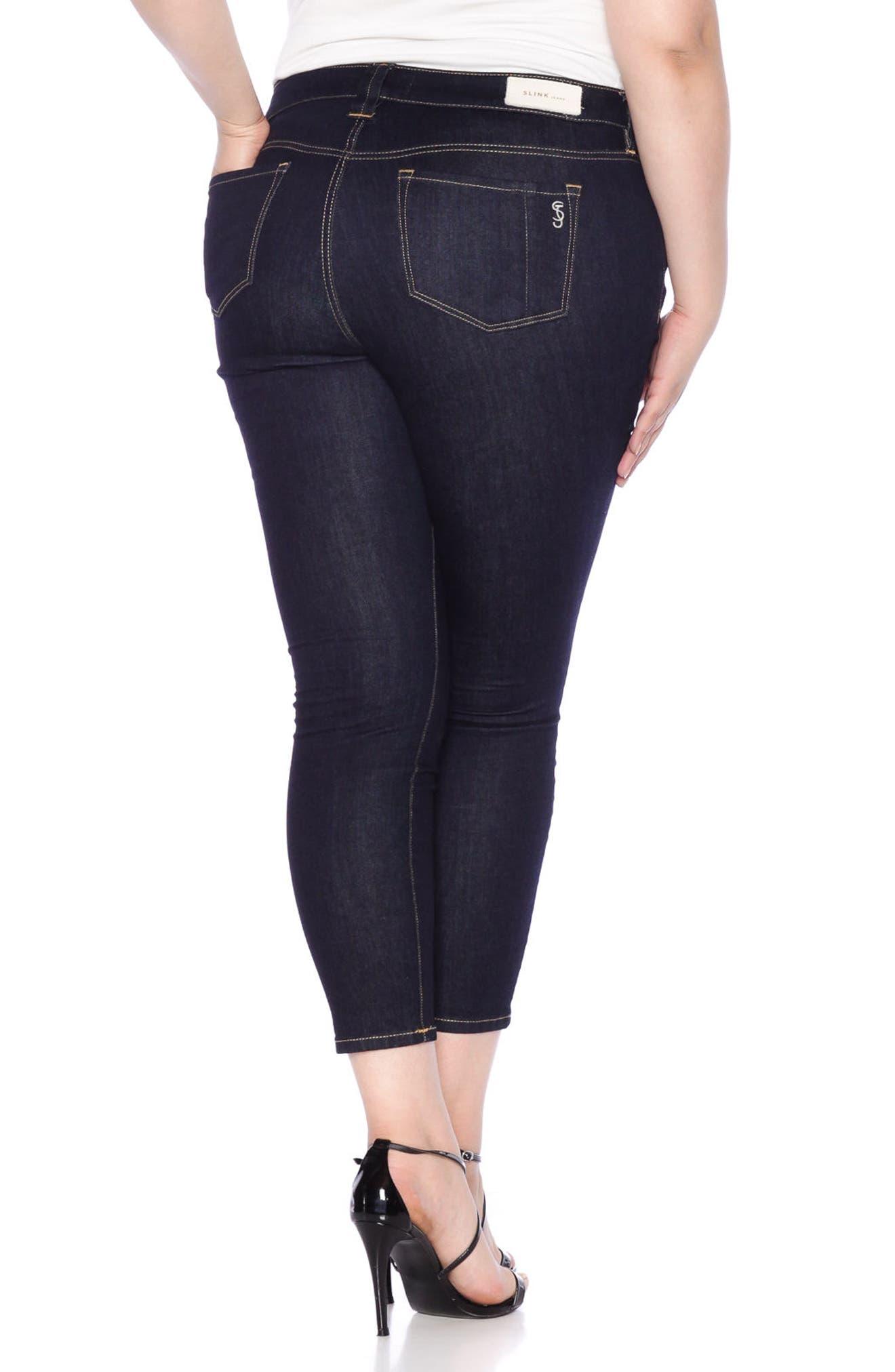 Ankle Skinny Jeans,                             Alternate thumbnail 5, color,                             405
