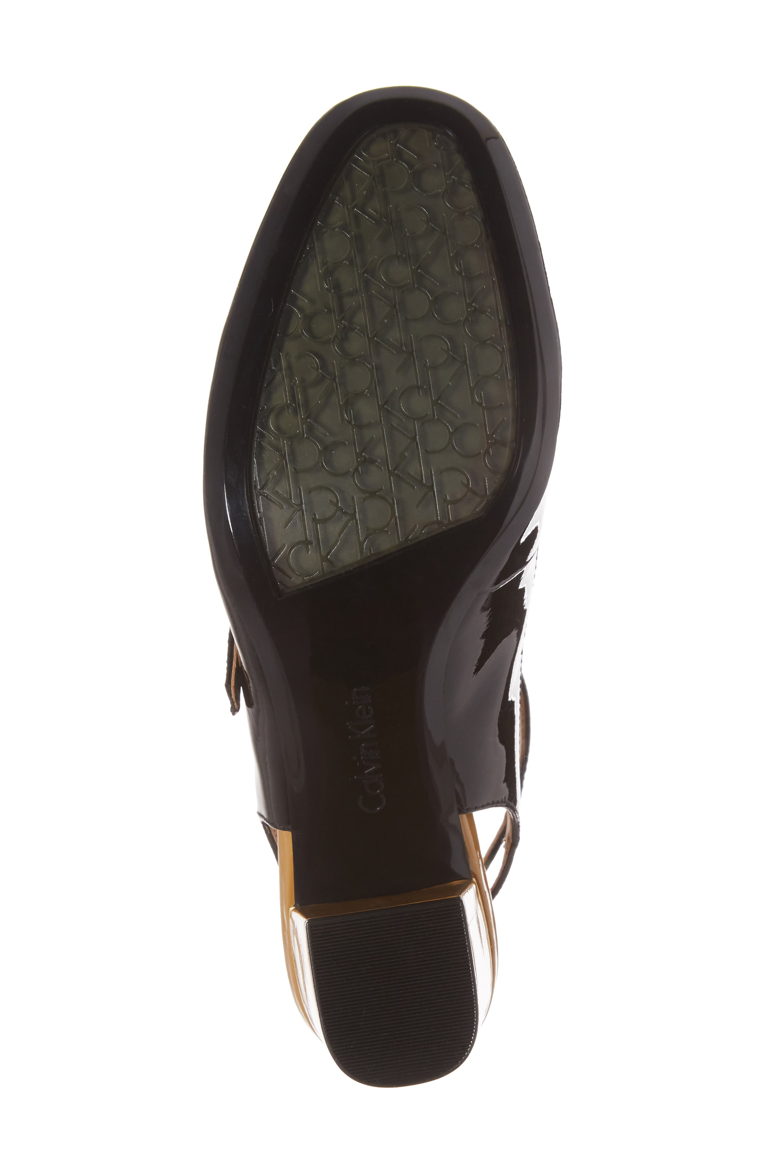 Cleary Wraparound Mary Jane Pump,                             Alternate thumbnail 6, color,                             001