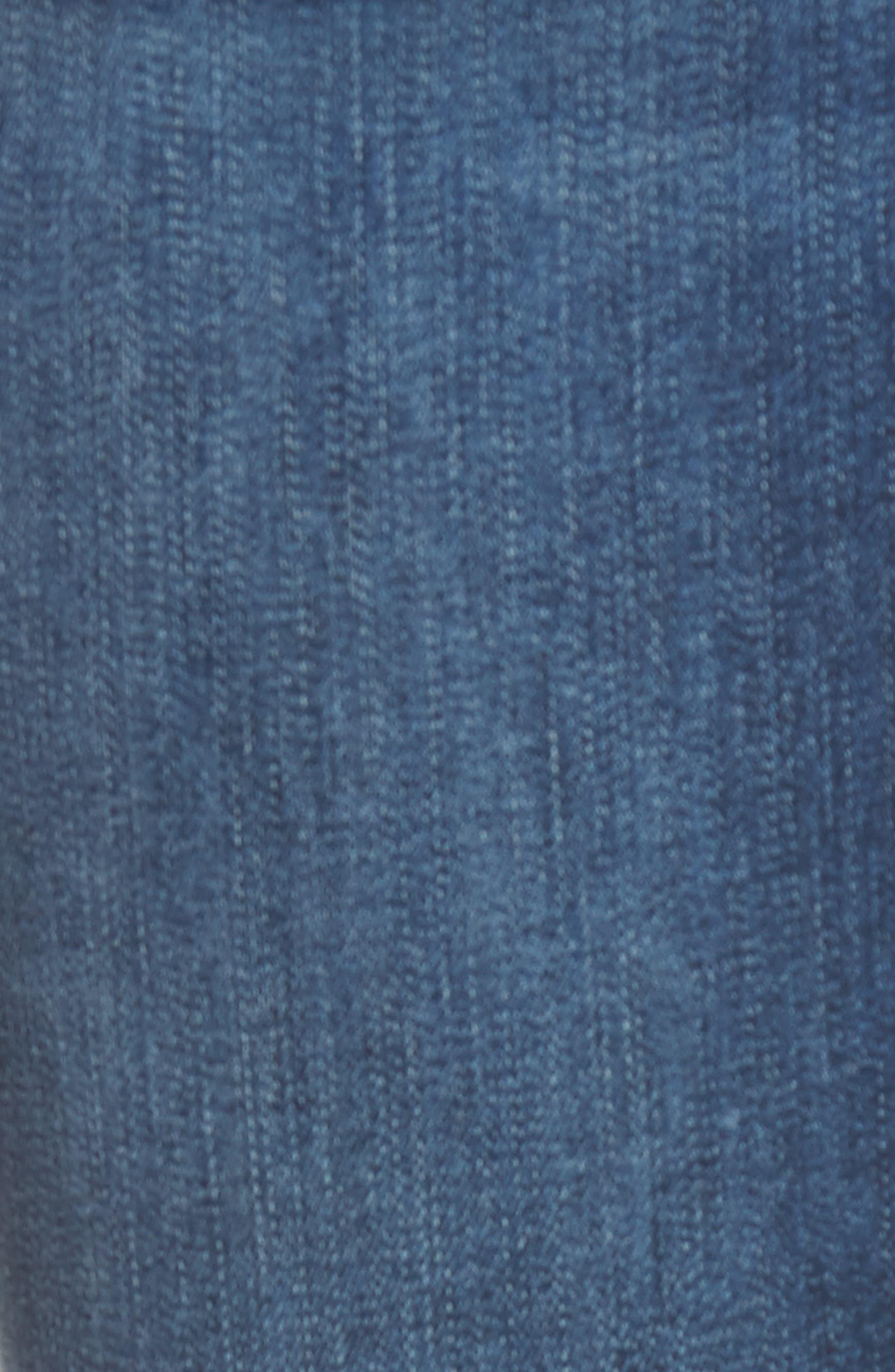 Florence Instasculpt Crop Skinny Jeans,                             Alternate thumbnail 6, color,                             425