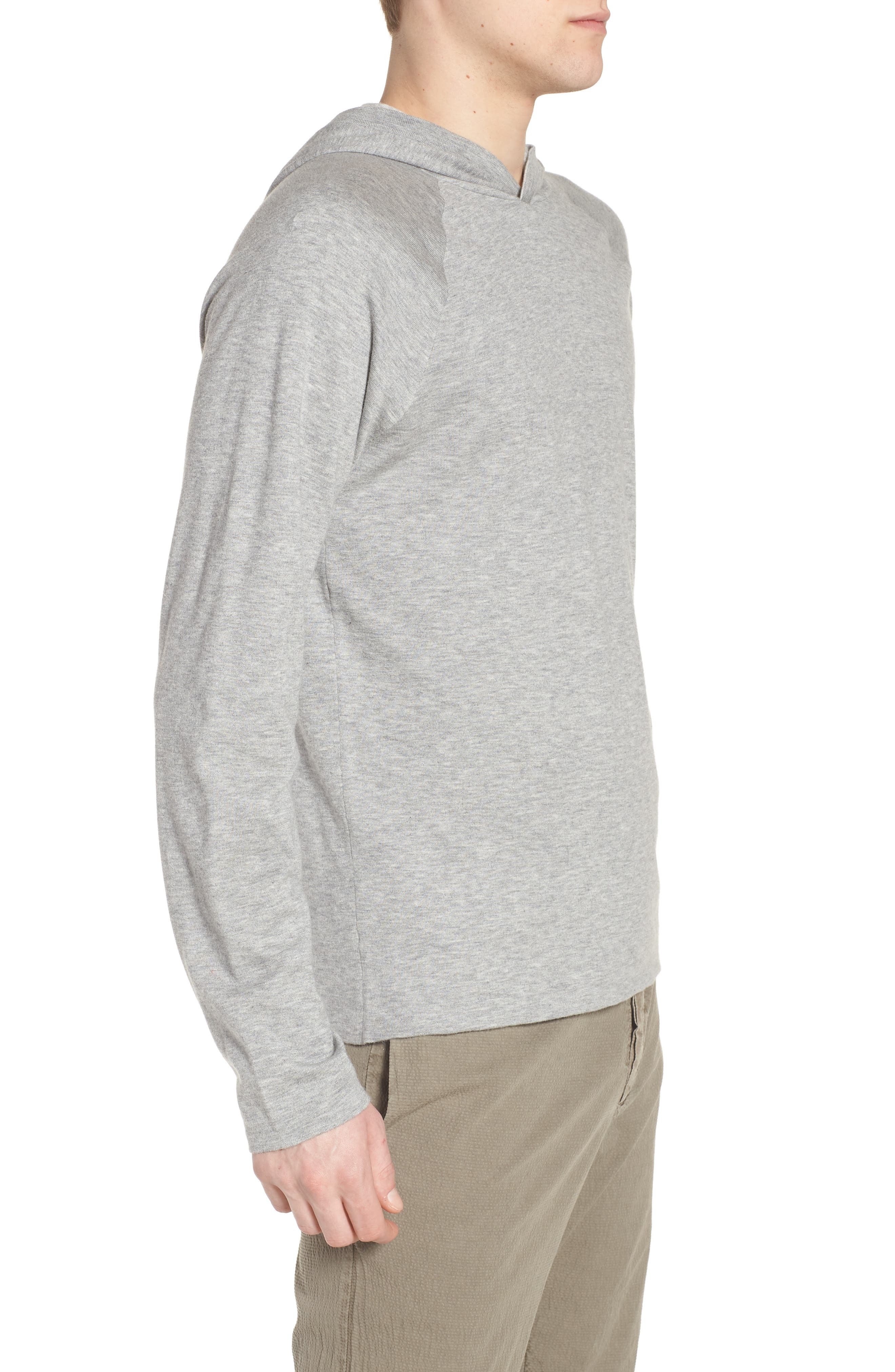 Reversible Hooded Sweater,                             Alternate thumbnail 3, color,                             056
