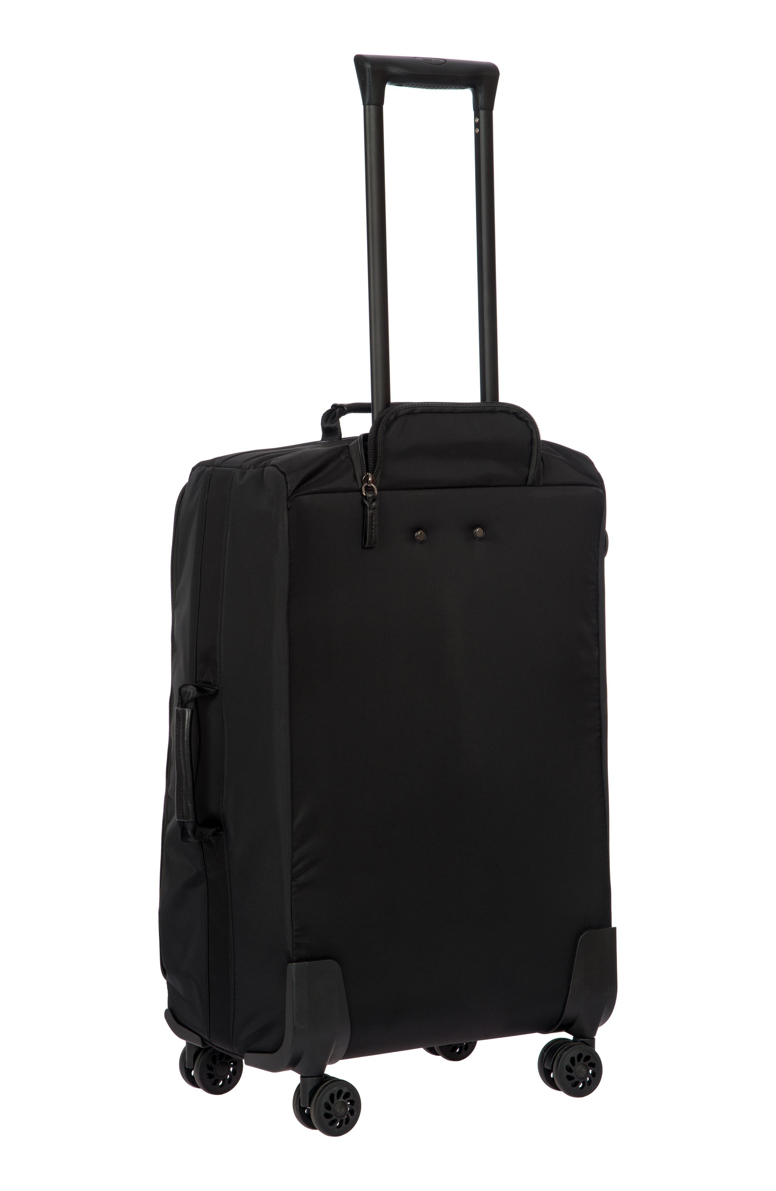 X-Bag 25-Inch Spinner Suitcase,                             Alternate thumbnail 4, color,                             BLACK/ BLACK