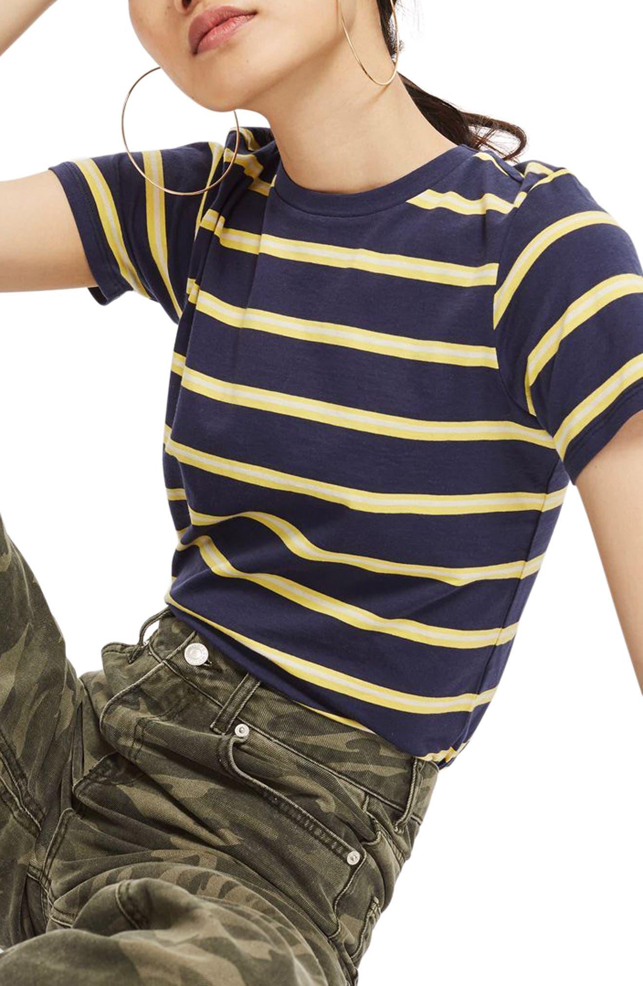 70s Stripe T-Shirt,                             Main thumbnail 1, color,                             411