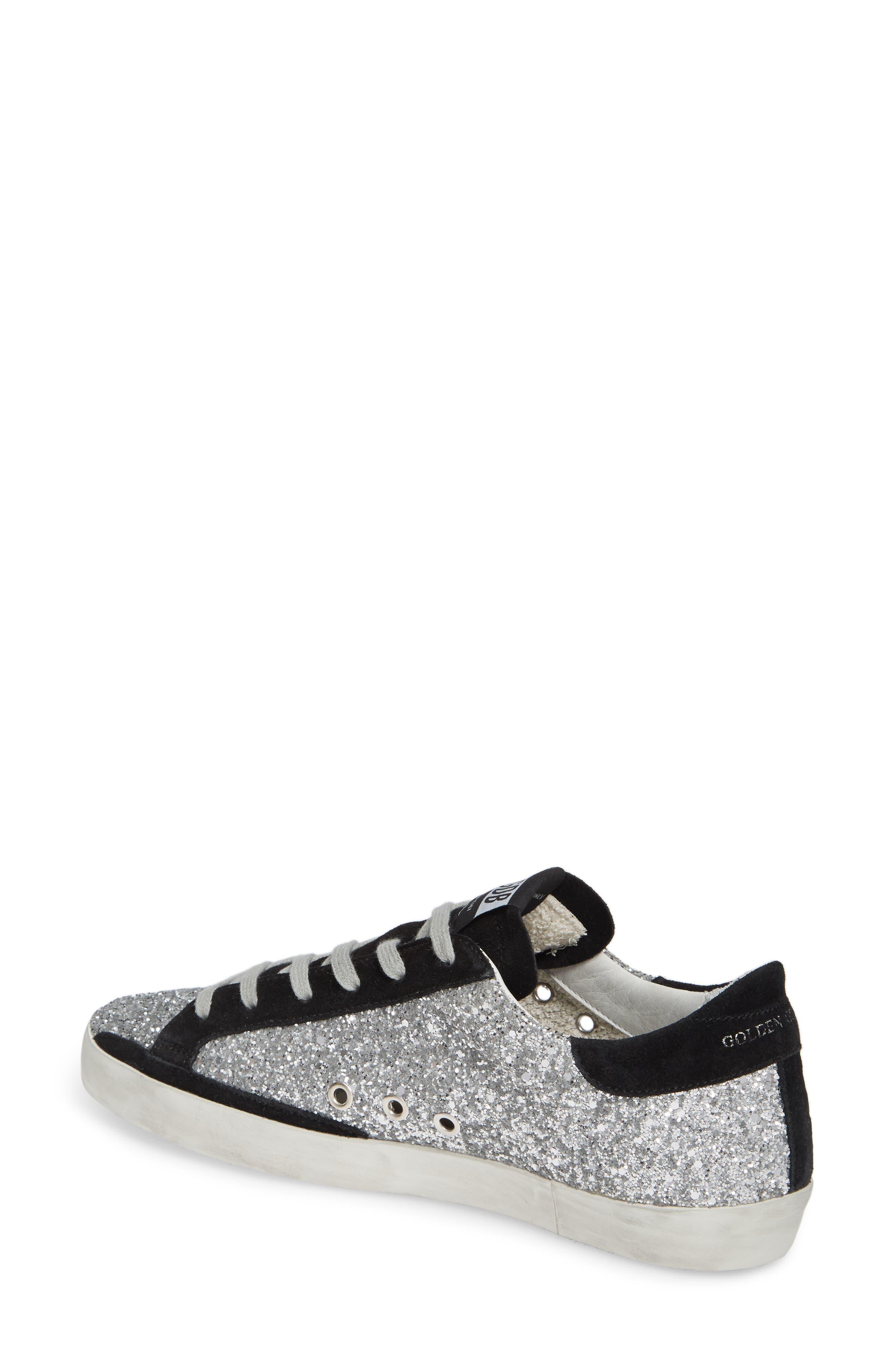 Superstar Glitter Sneaker,                             Alternate thumbnail 2, color,                             040