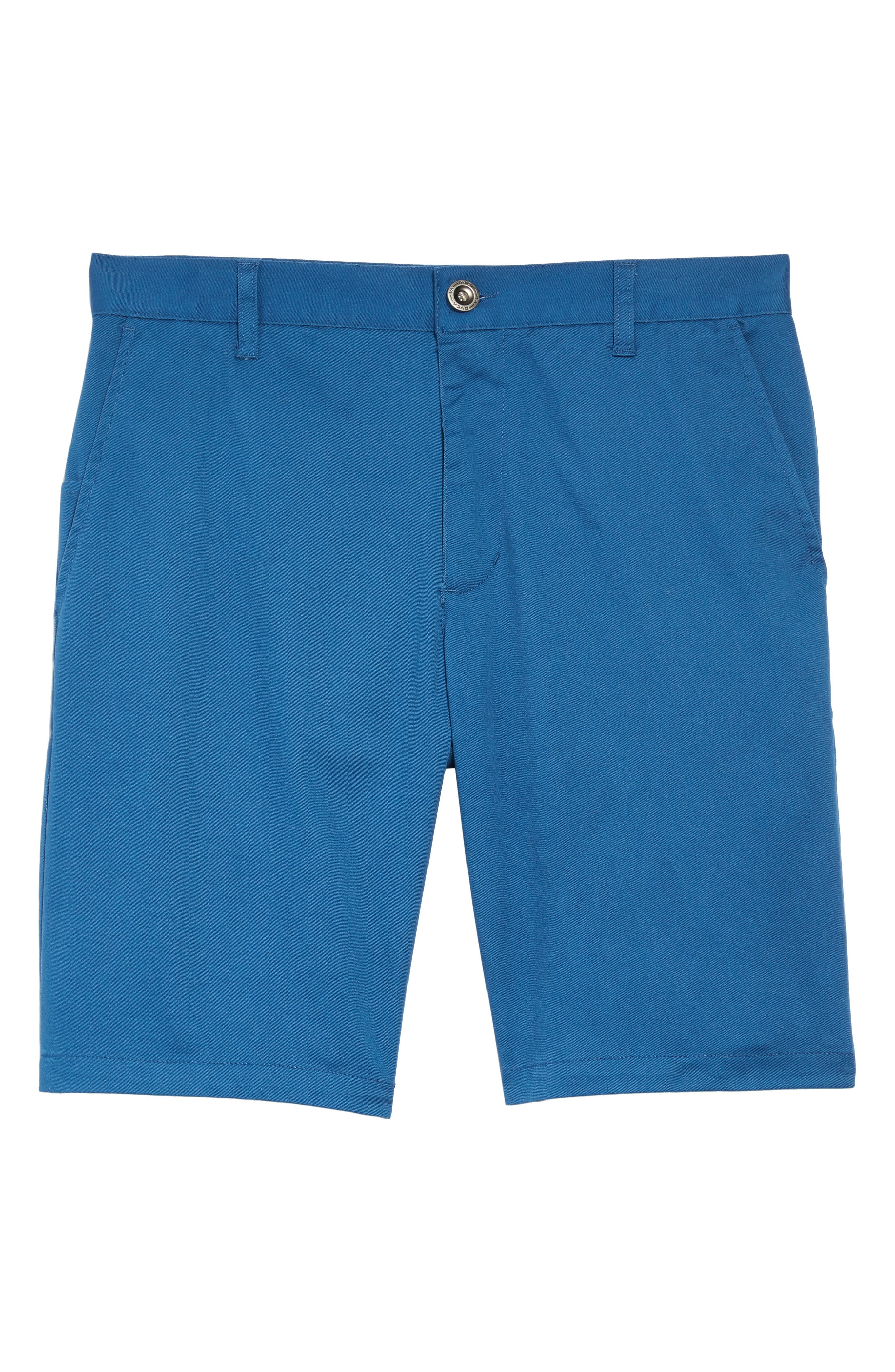The Week-End Stretch Twill Chino Shorts,                             Alternate thumbnail 6, color,                             DARK BLUE