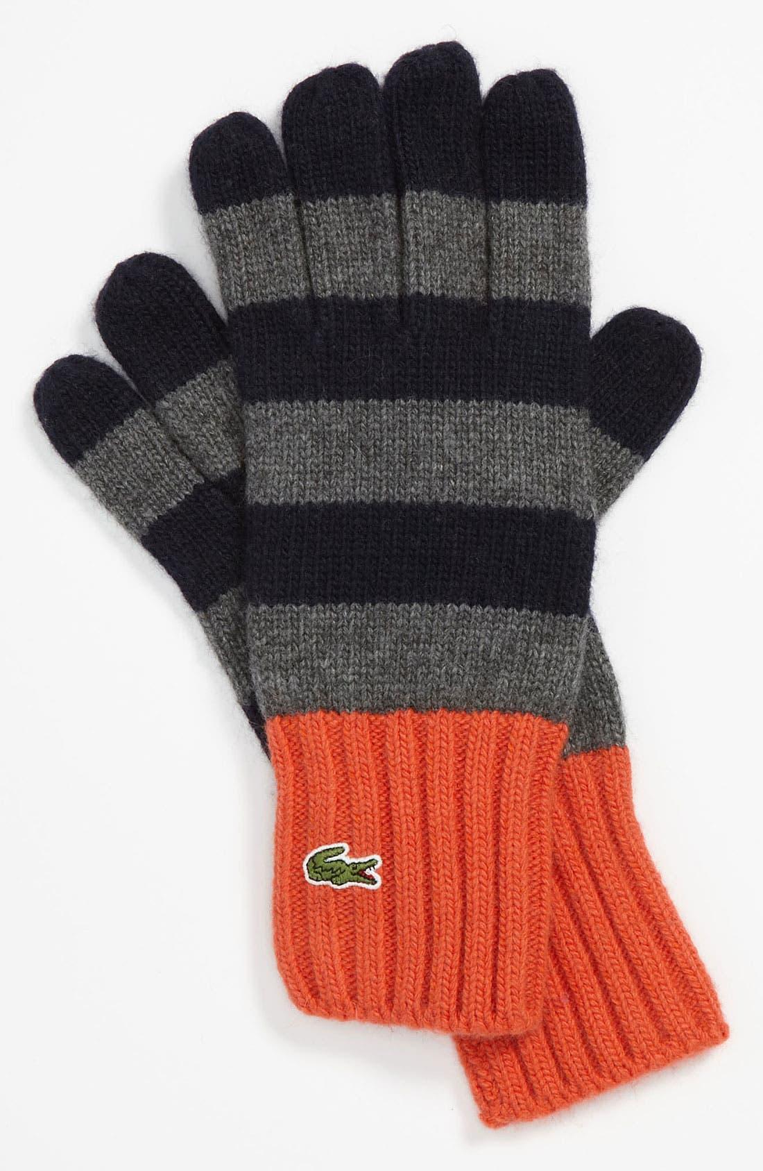 'Toboggan' Knit Gloves, Main, color, 406