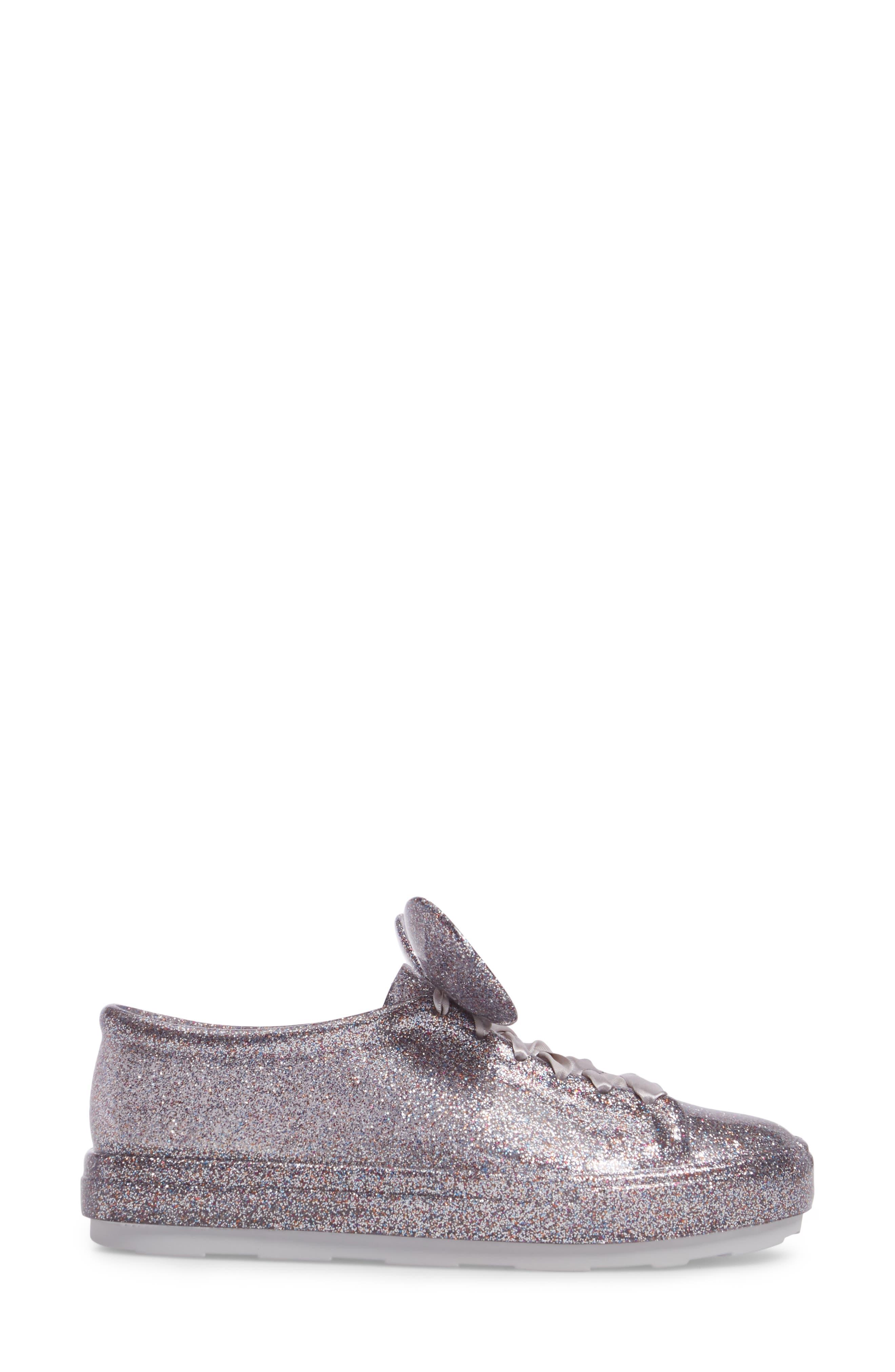 Be Disney Mouse Ear Sneaker,                             Alternate thumbnail 3, color,                             049