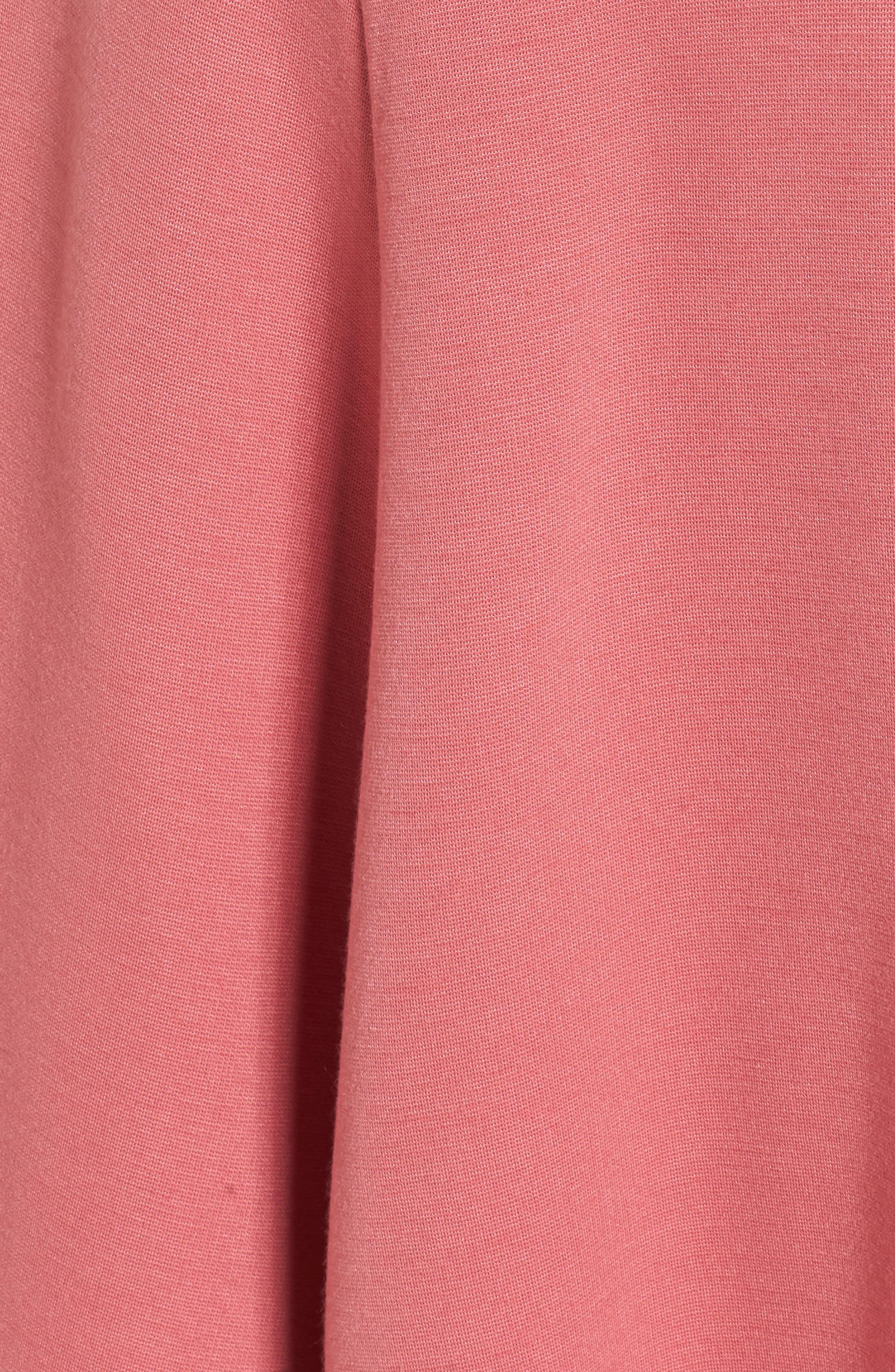 Stretch Knit Midi Dress,                             Alternate thumbnail 48, color,