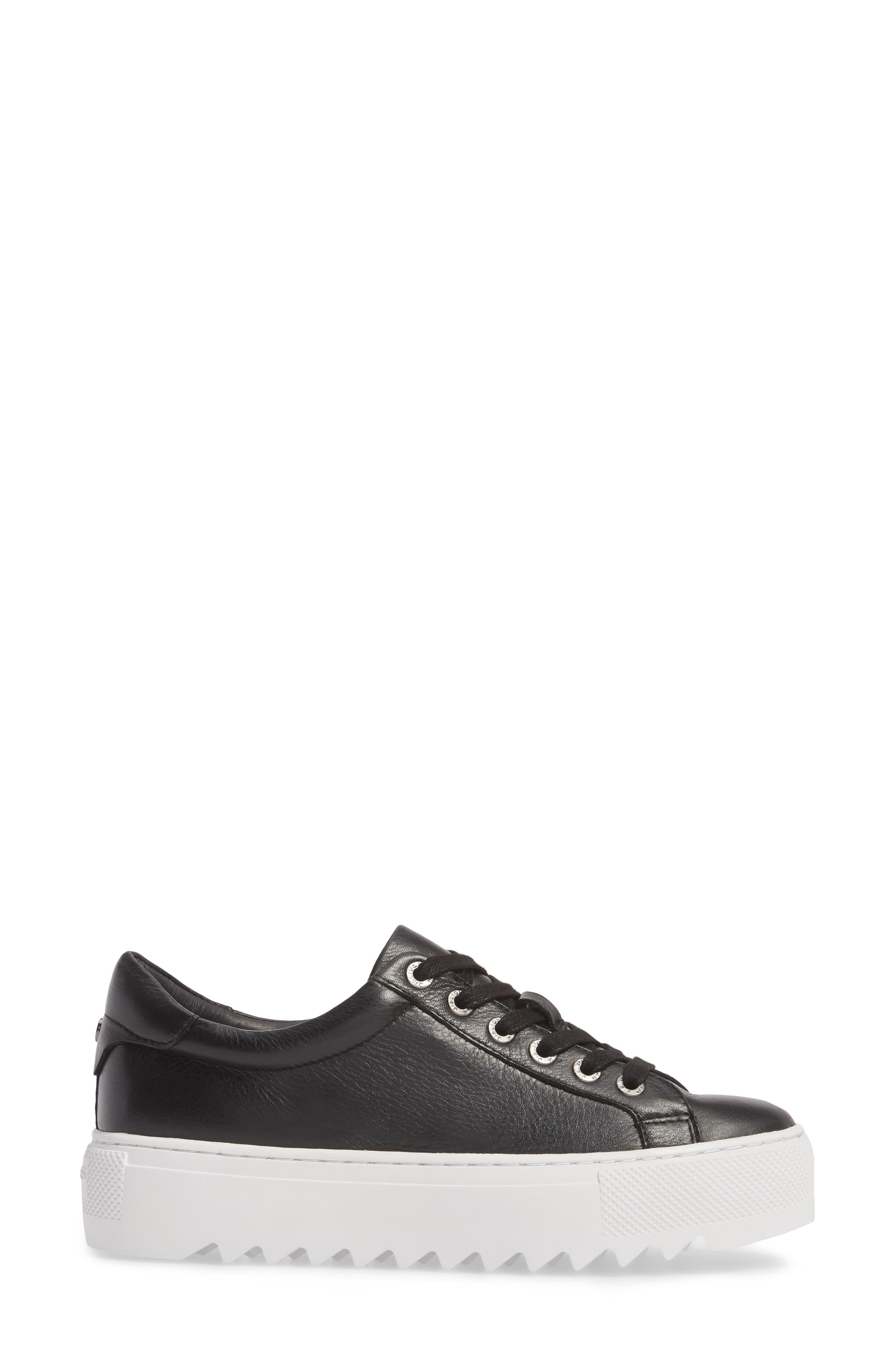 Sapphire Platform Sneaker,                             Alternate thumbnail 3, color,                             015