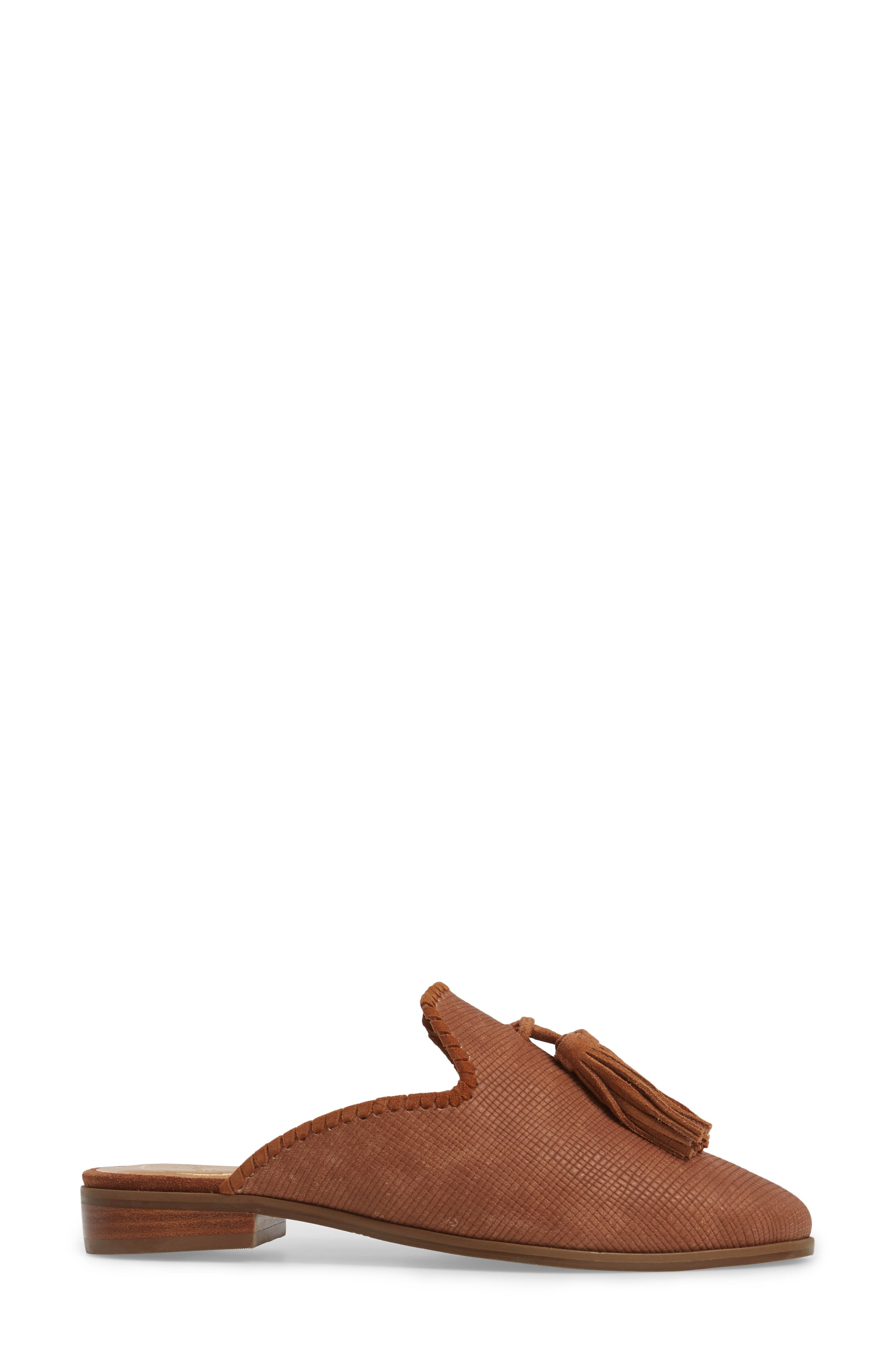 Delaney Tassel Mule,                             Alternate thumbnail 8, color,