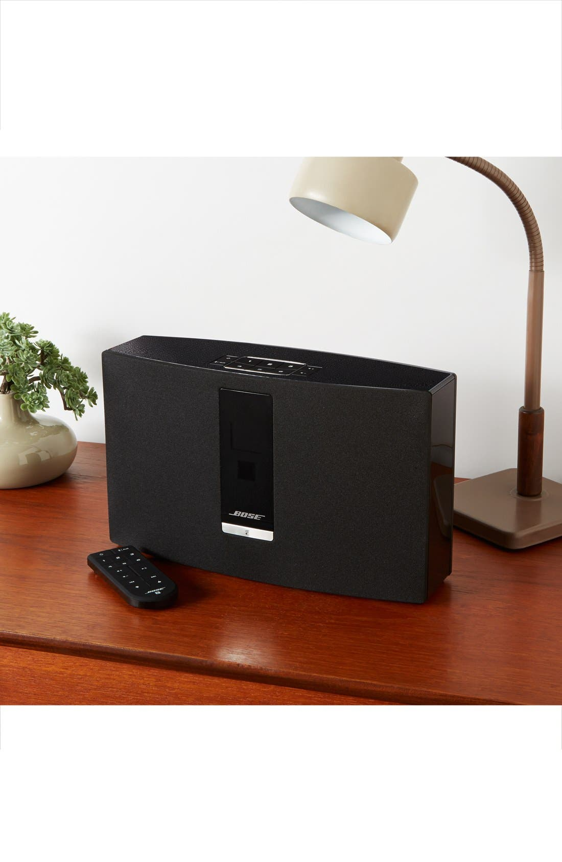 SoundTouch<sup>®</sup> 30 Series III Wireless Music System,                             Alternate thumbnail 6, color,                             BLACK