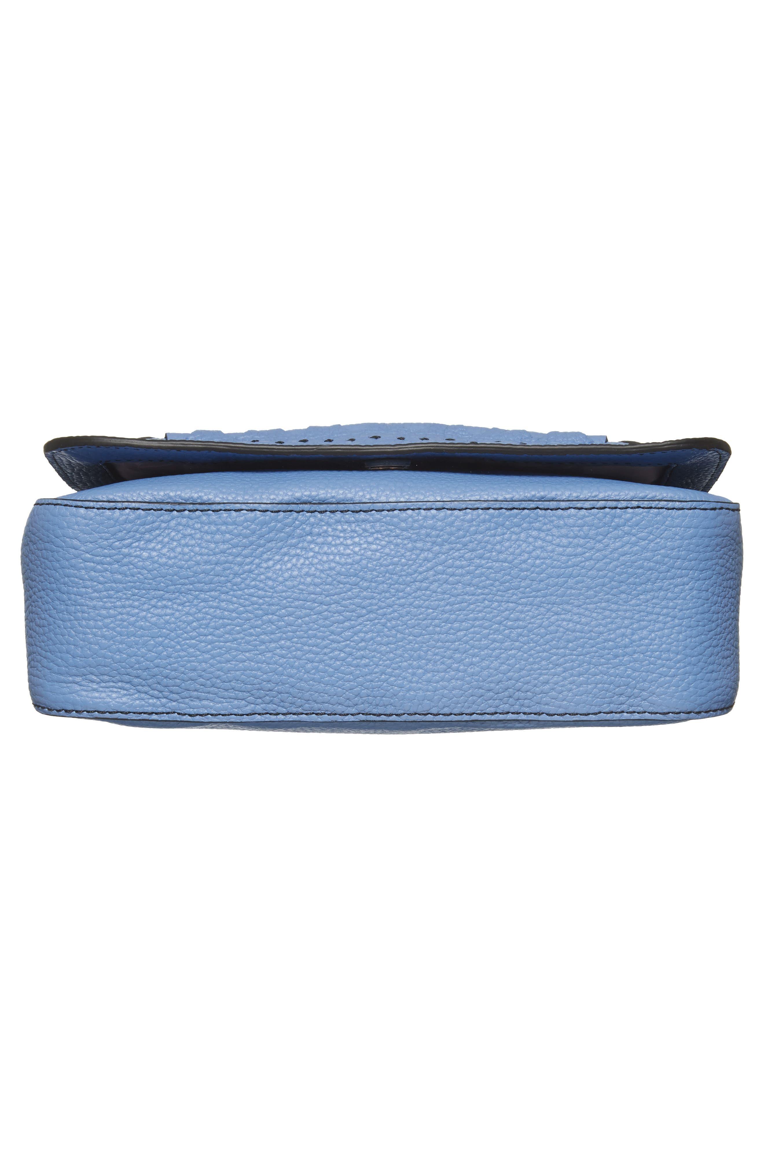 Tippi Leather Crossbody Bag,                             Alternate thumbnail 17, color,