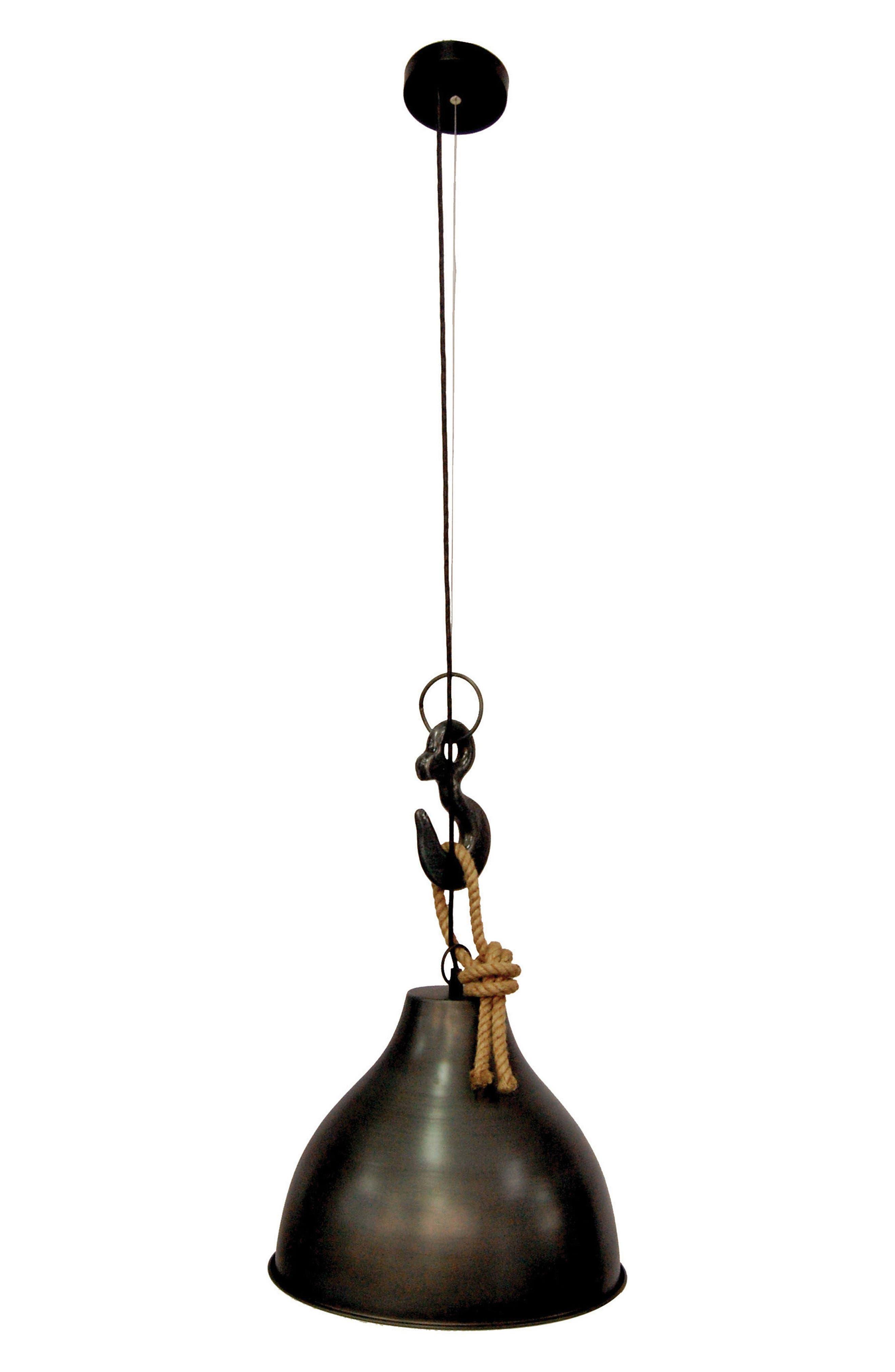 Antiqued Zinc Ceiling Light Fixture,                         Main,                         color, 001