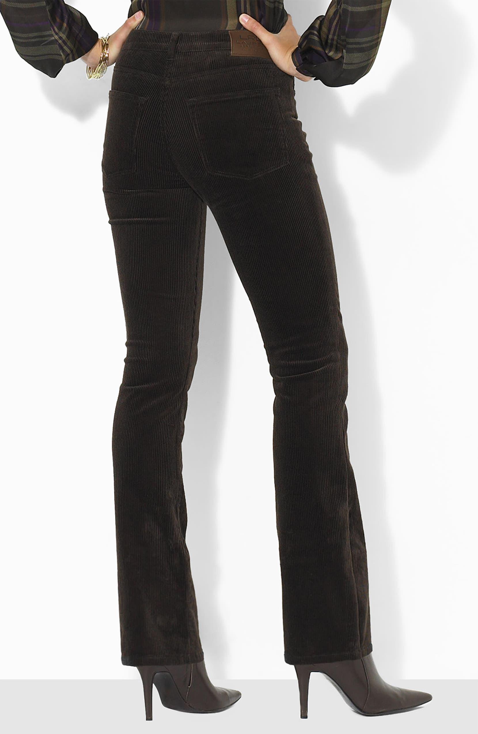 d5538d244 Lauren by Ralph Lauren Bootcut Corduroy Pants