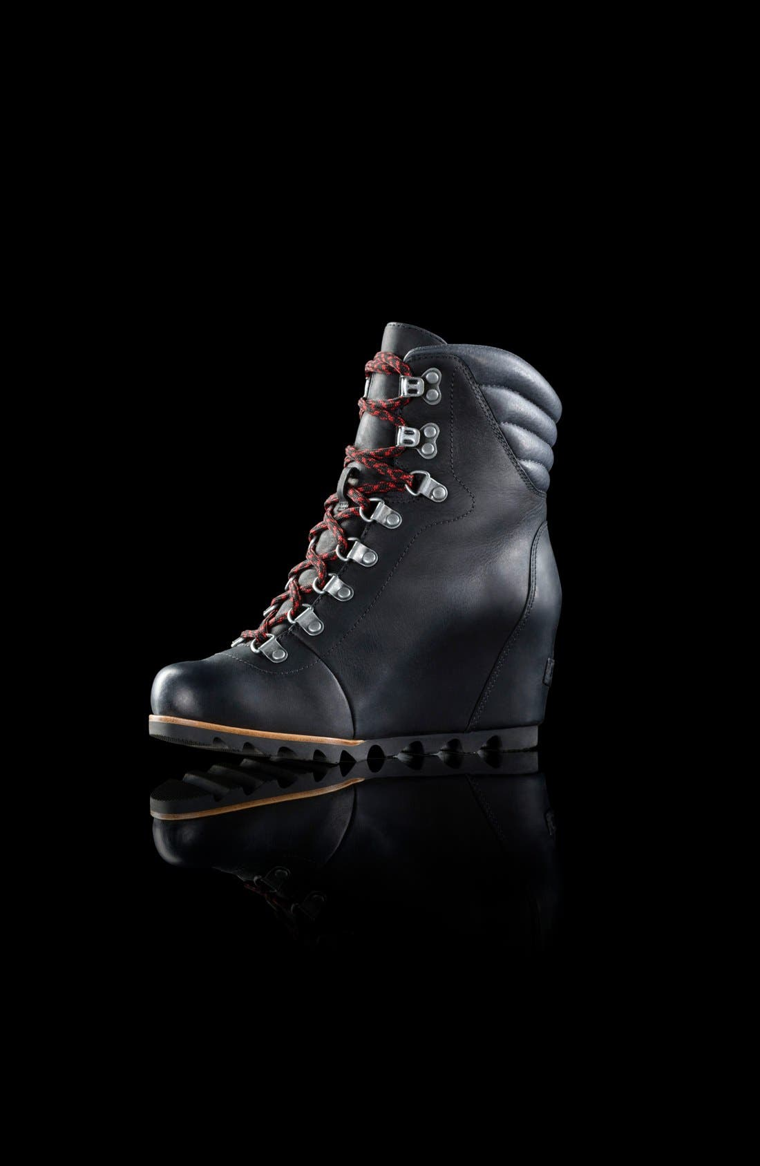'Conquest' Waterproof Wedge Boot,                             Alternate thumbnail 2, color,                             010