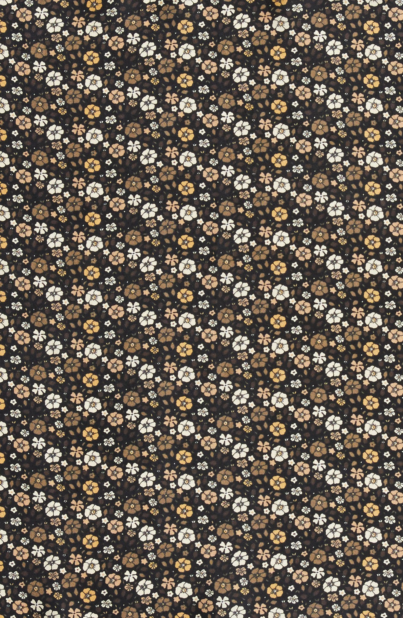 Floral Silk Bandana,                             Alternate thumbnail 4, color,                             001