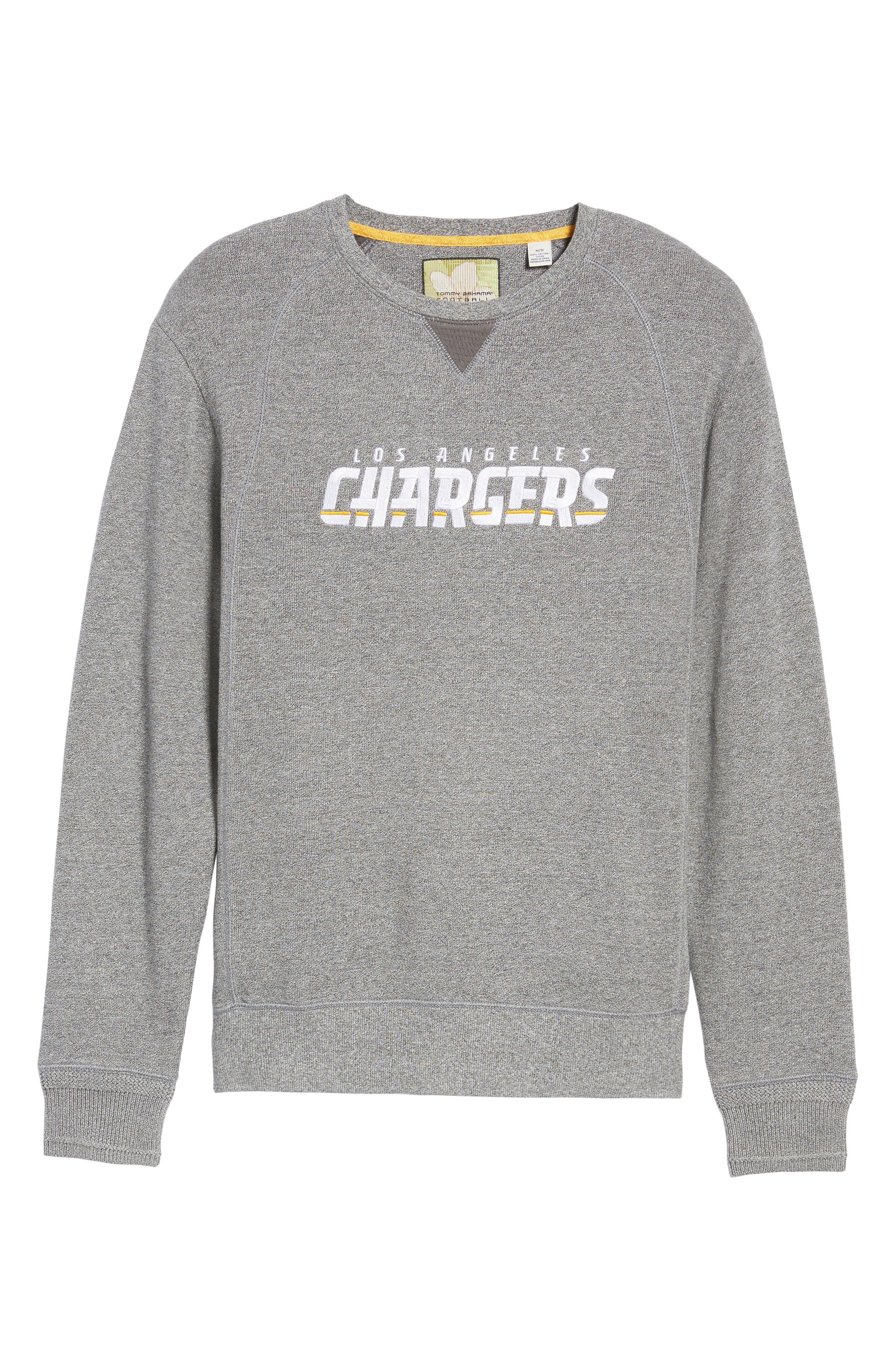NFL Stitch of Liberty Embroidered Crewneck Sweatshirt,                             Alternate thumbnail 161, color,
