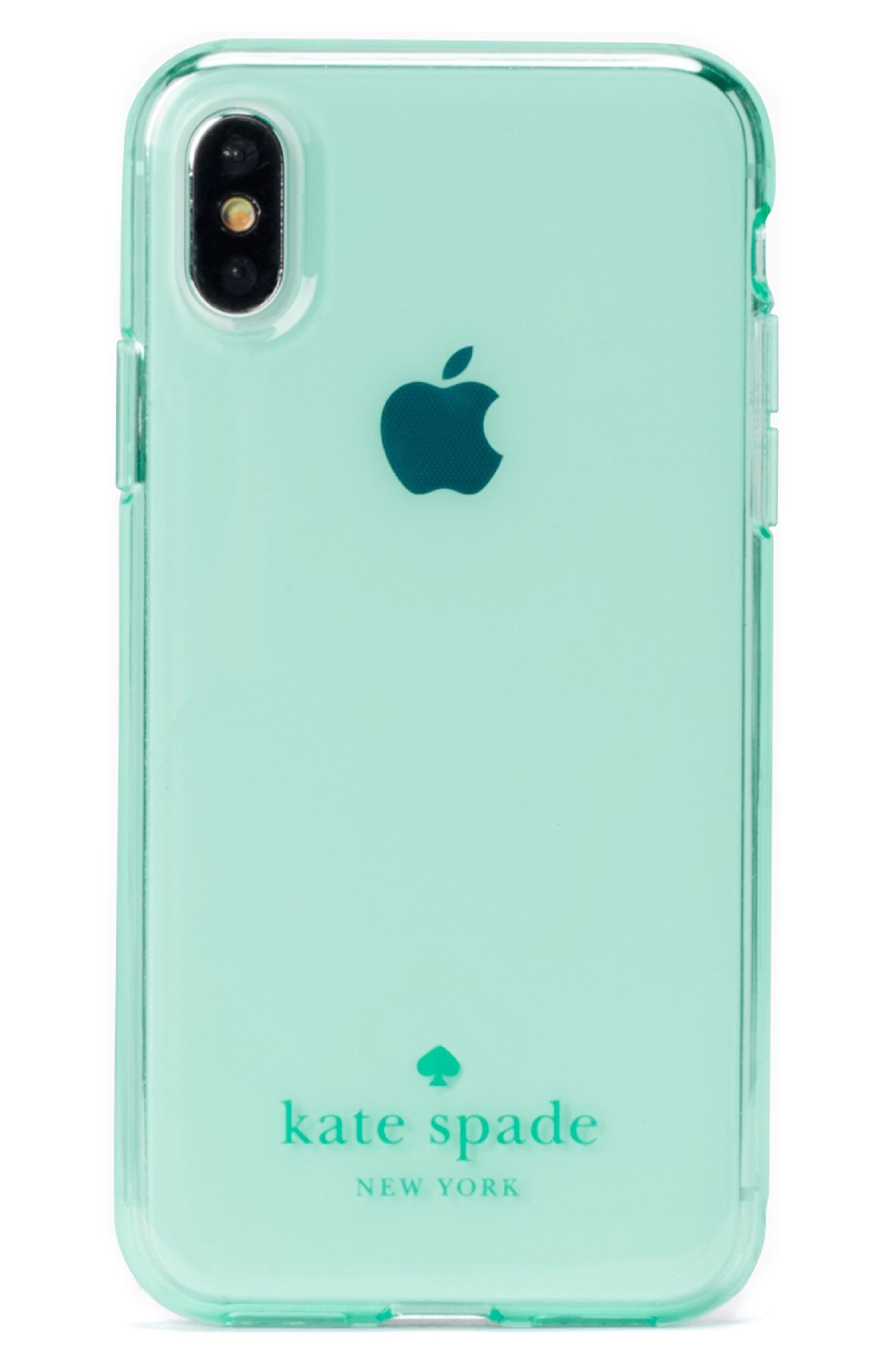 tinted iPhone X case,                             Main thumbnail 1, color,